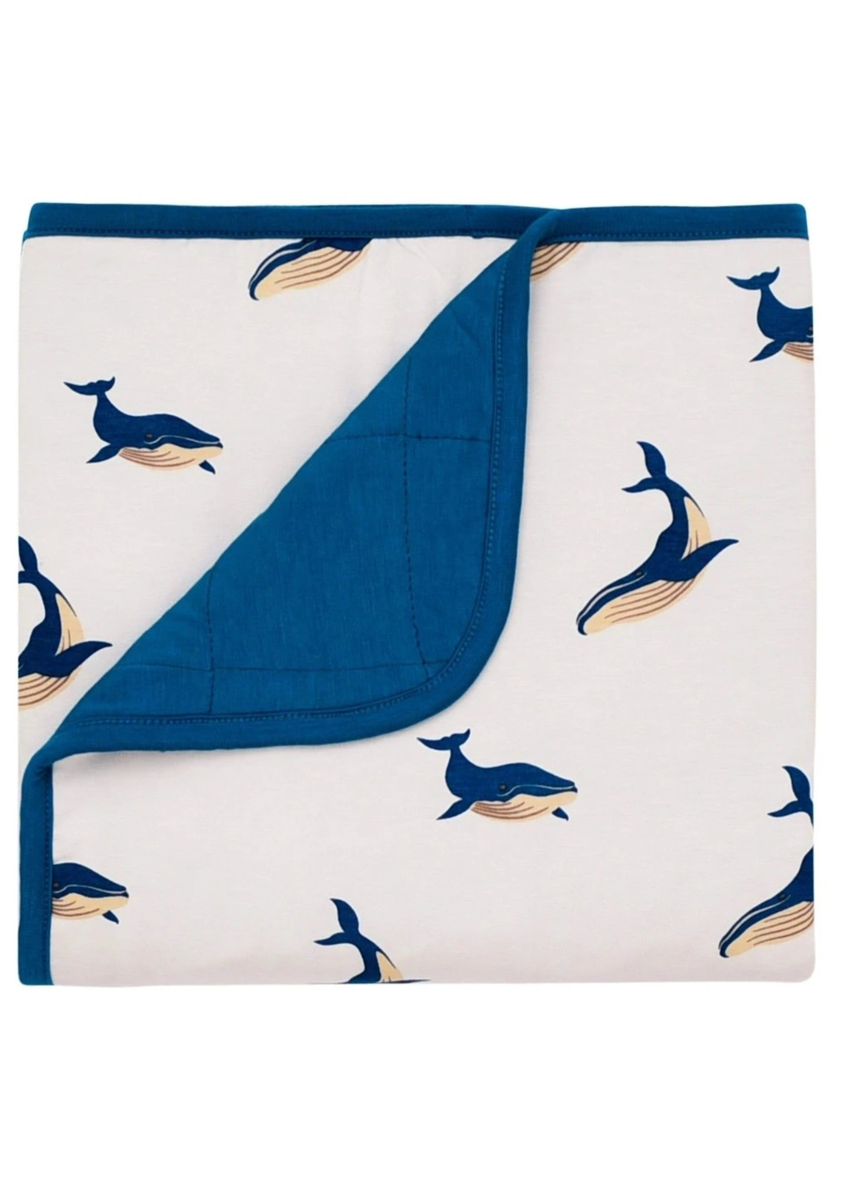 KYTE BABY Printed Baby Blanket WHALE
