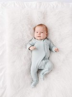 KYTE BABY Zippered Footie SAGE