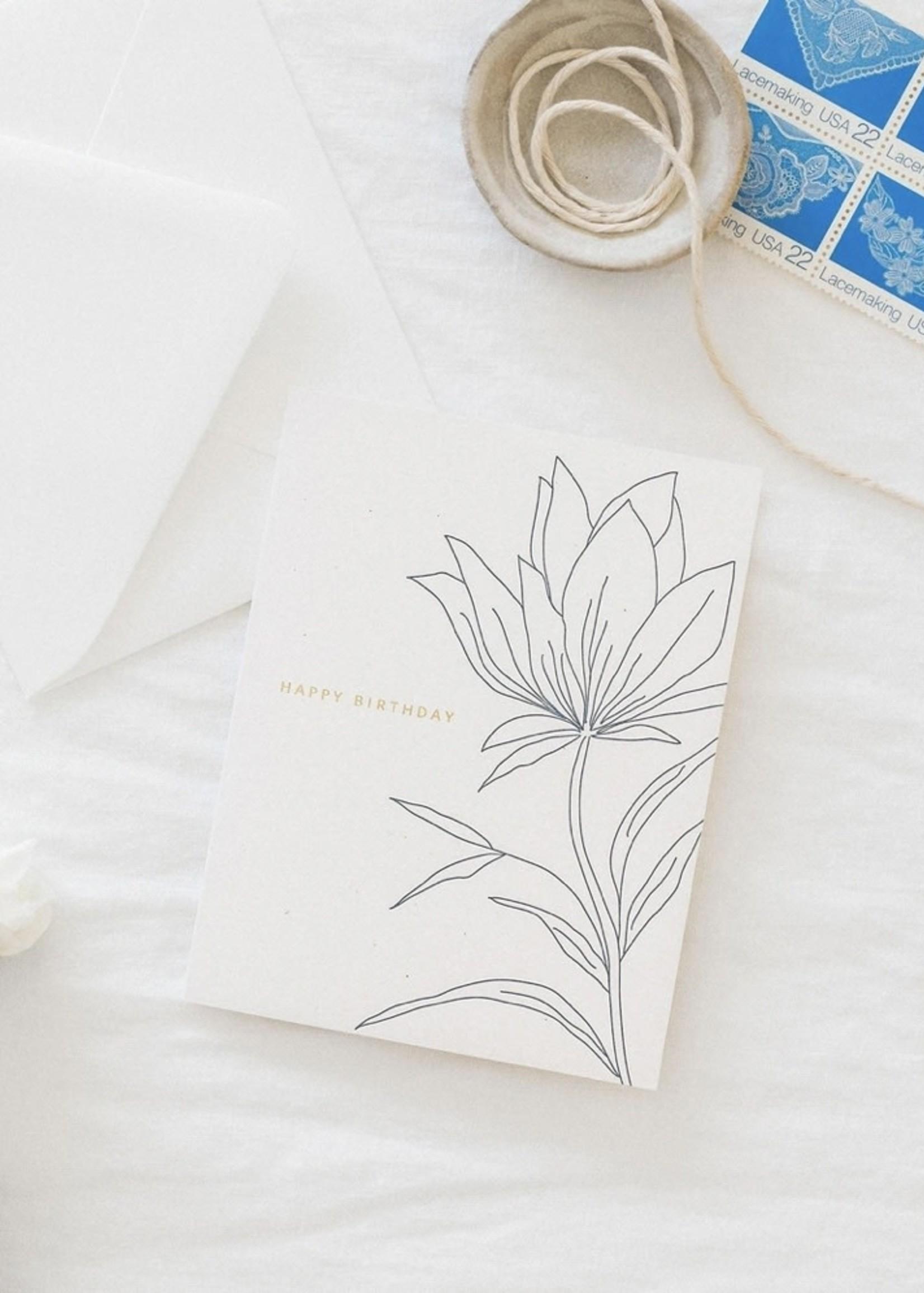 RAMONA + RUTH Birthday Botanical Card