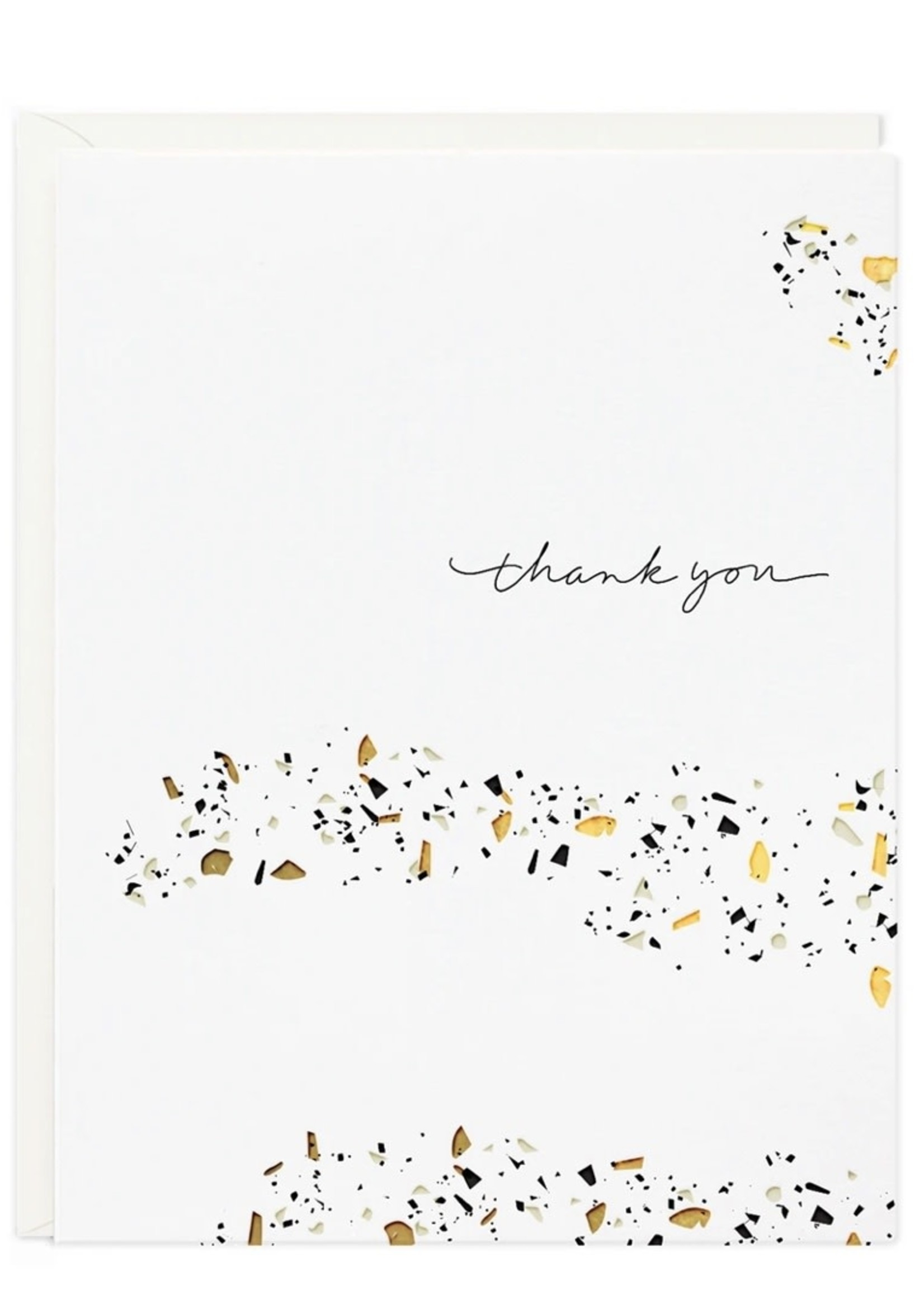 RAMONA + RUTH Thank You Terrazzo Card