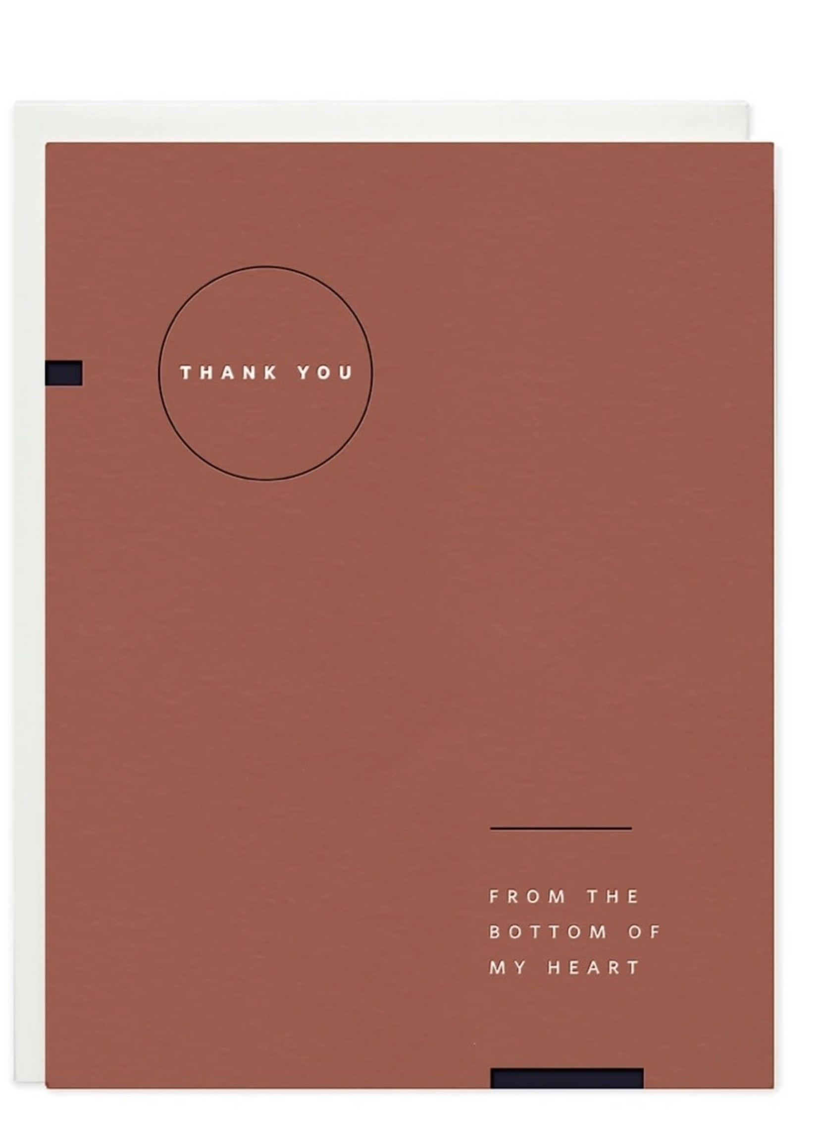 RAMONA + RUTH Thank You Geometric Greeting Card