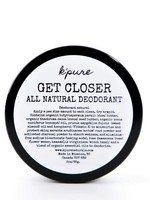 K'PURE Get Closer All Natural Deodorant 4oz ORIGINAL