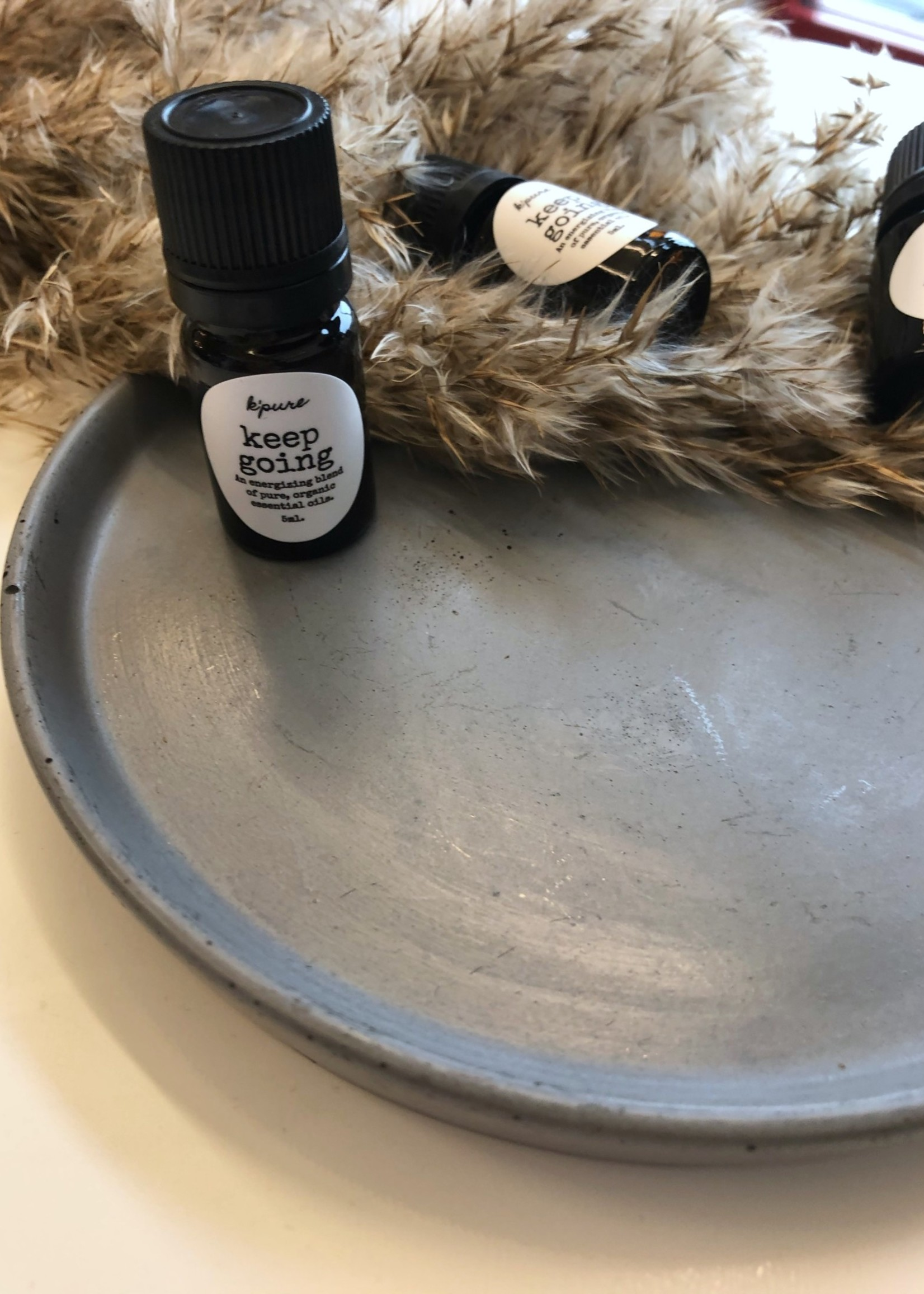 K'PURE Pure, Organic Essential Oil Diffuser Blend 5ml KEEP GOING