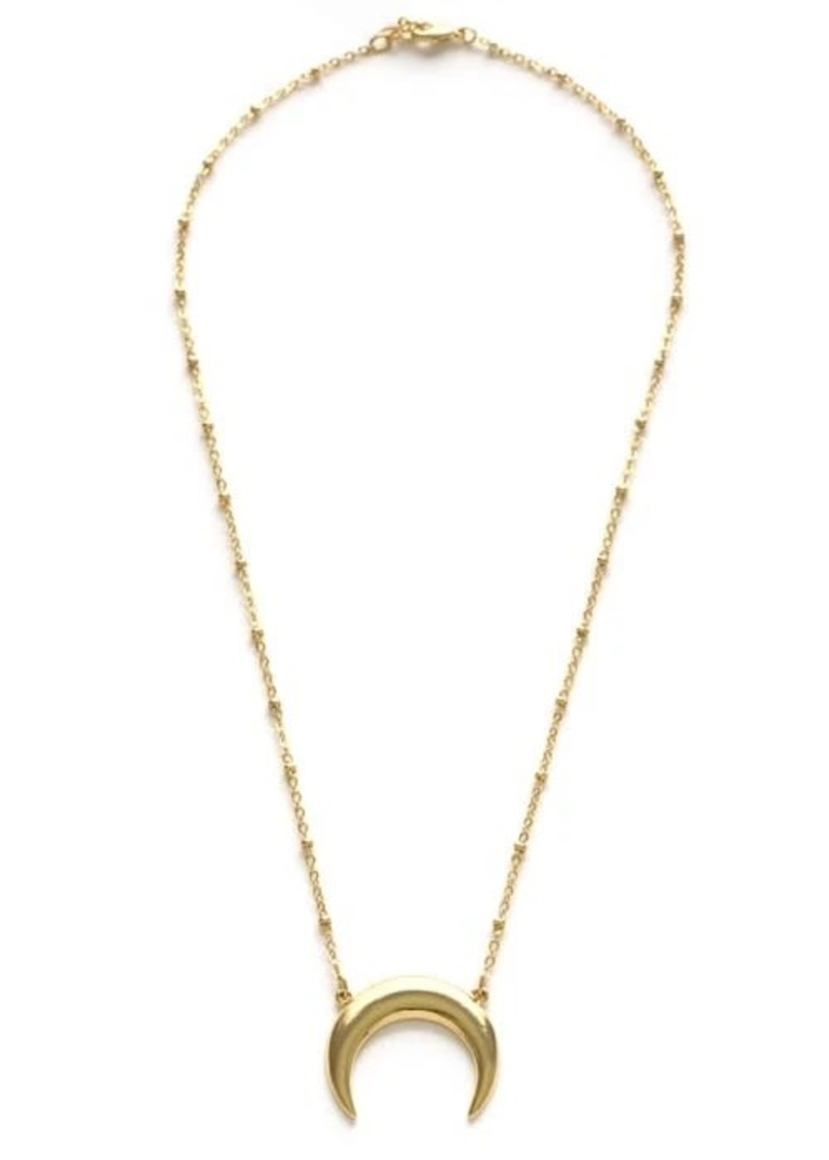 AMANO studio Celtic Goddess Necklace 14k Gold