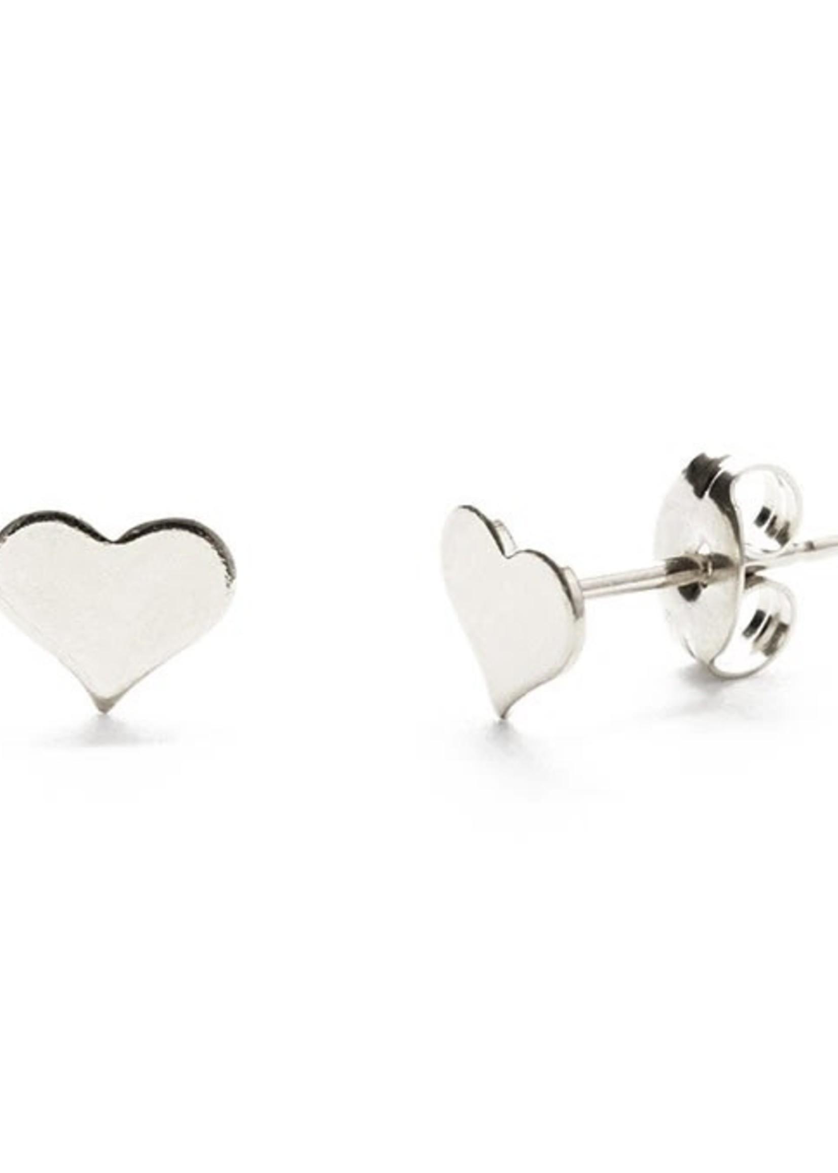 AMANO studio Sterling Silver Heart Studs