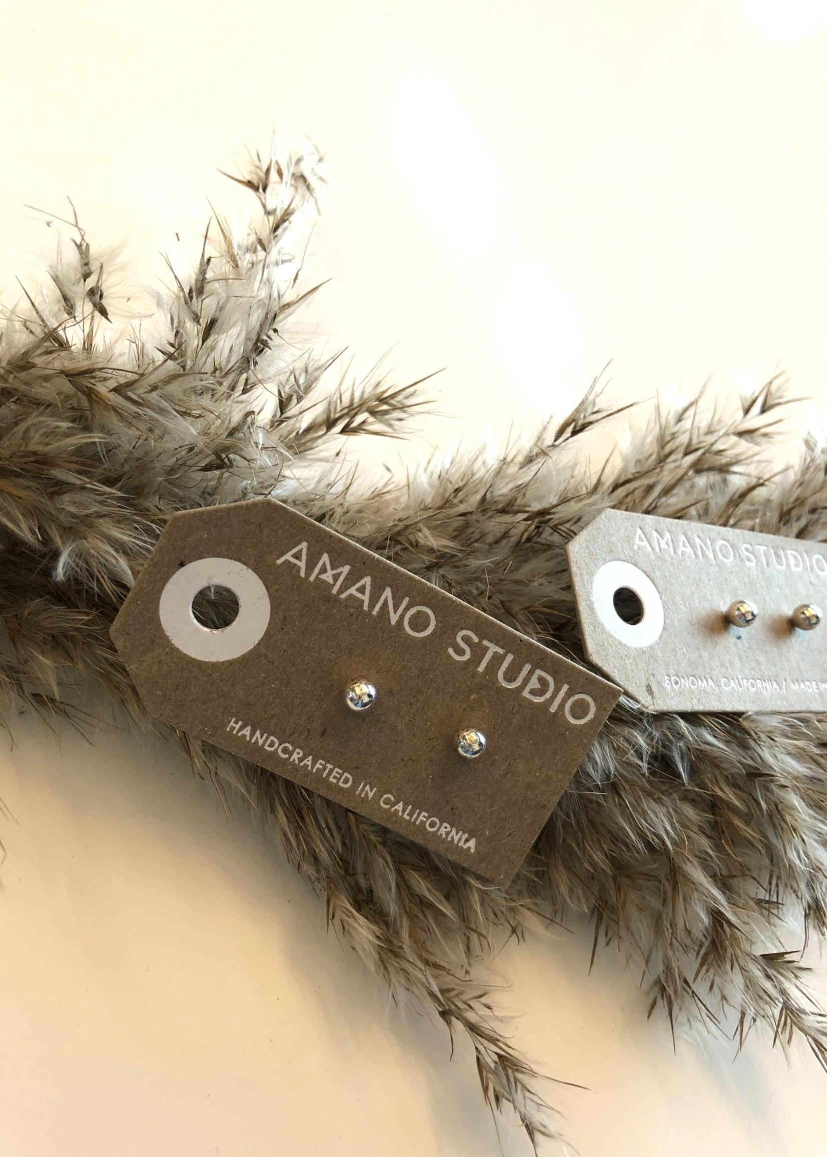 AMANO studio Ball Studs STERLING SILVER