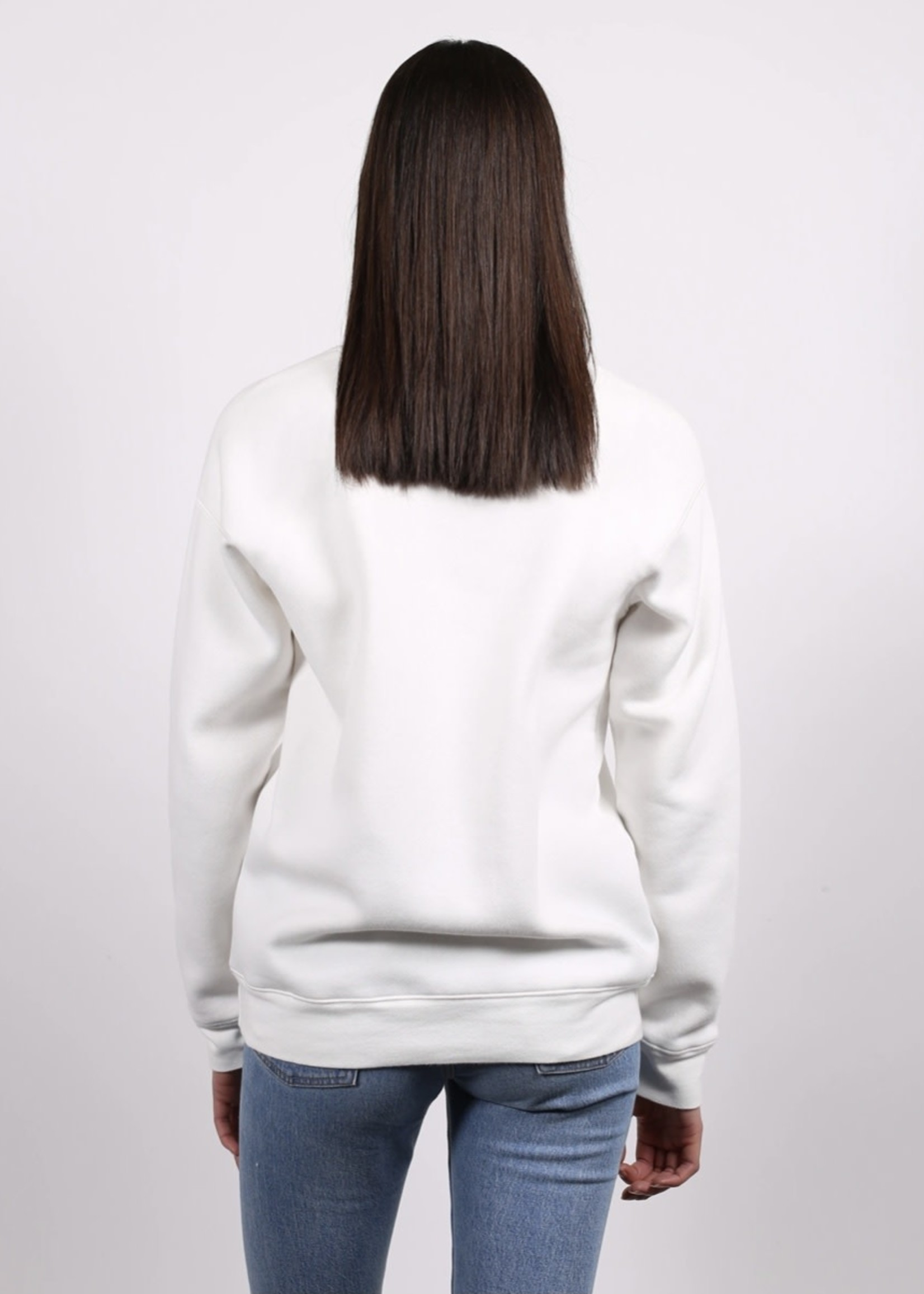 "BRUNETTE  the label The ""LOVER"" Classic Crew Neck Sweatshirt"