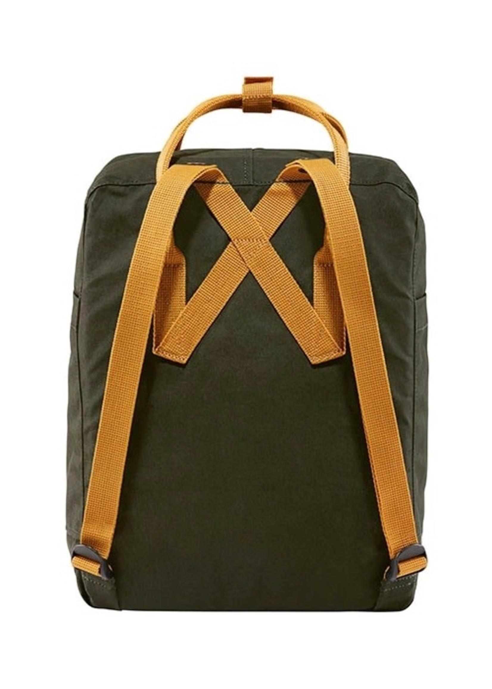 FJALL RAVEN Kanken Backpack DEEP FOREST/ACORN