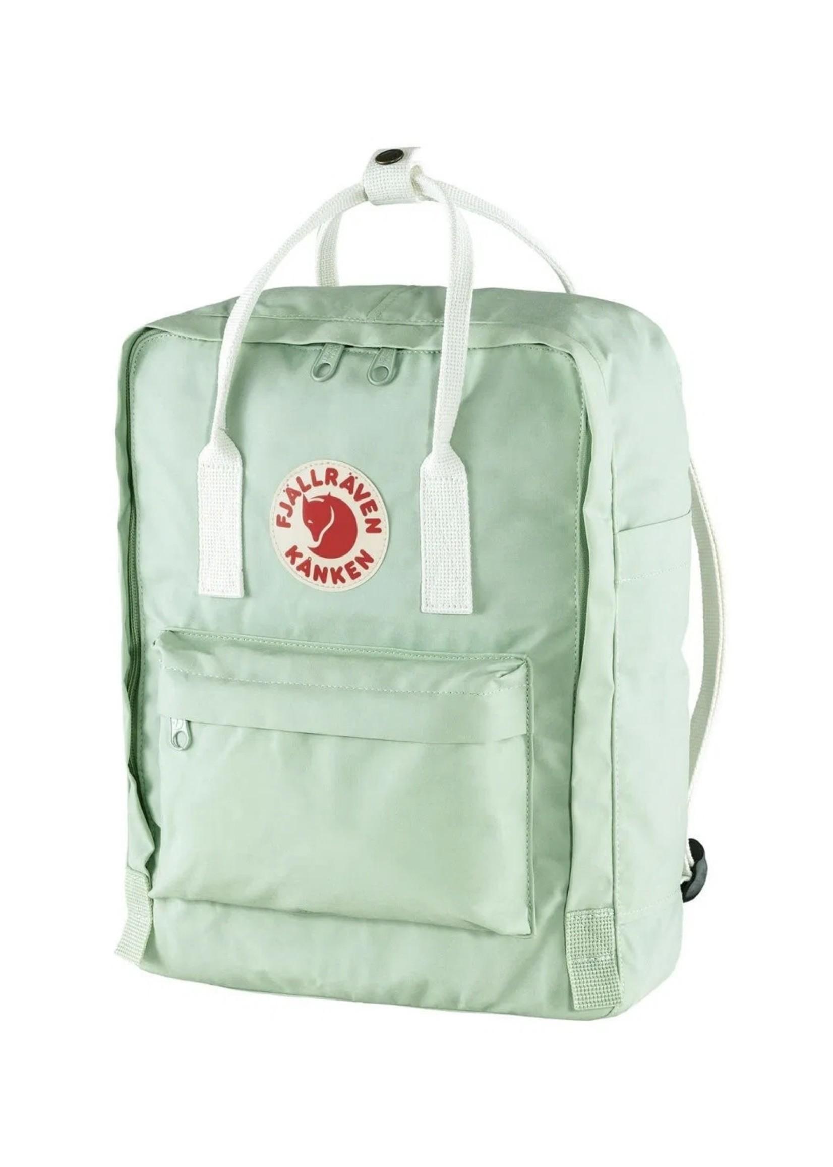 FJALL RAVEN Kanken Backpack MINT GREEN/WHITE