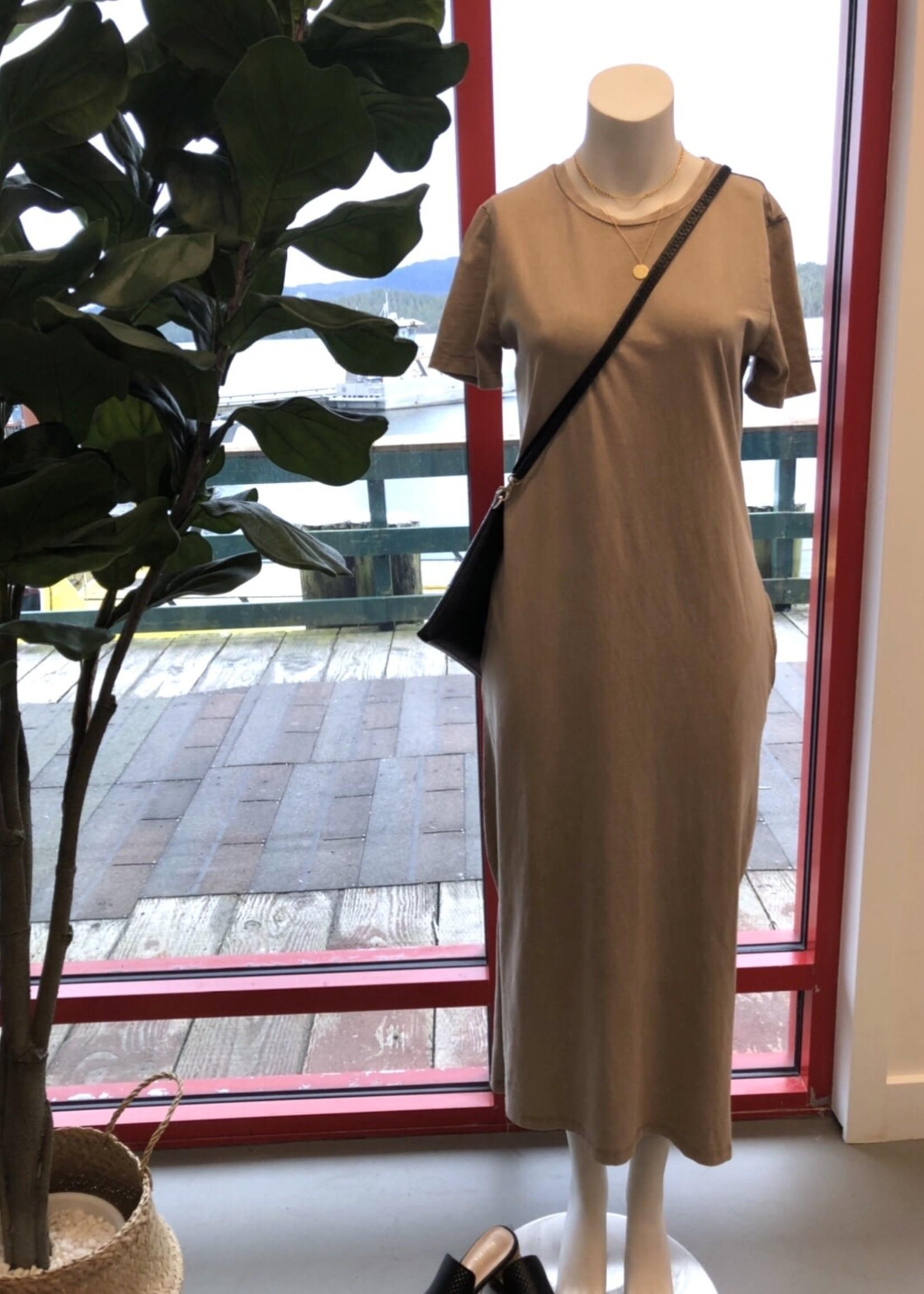 LeBLANC finds Acid Wash Midi Dress
