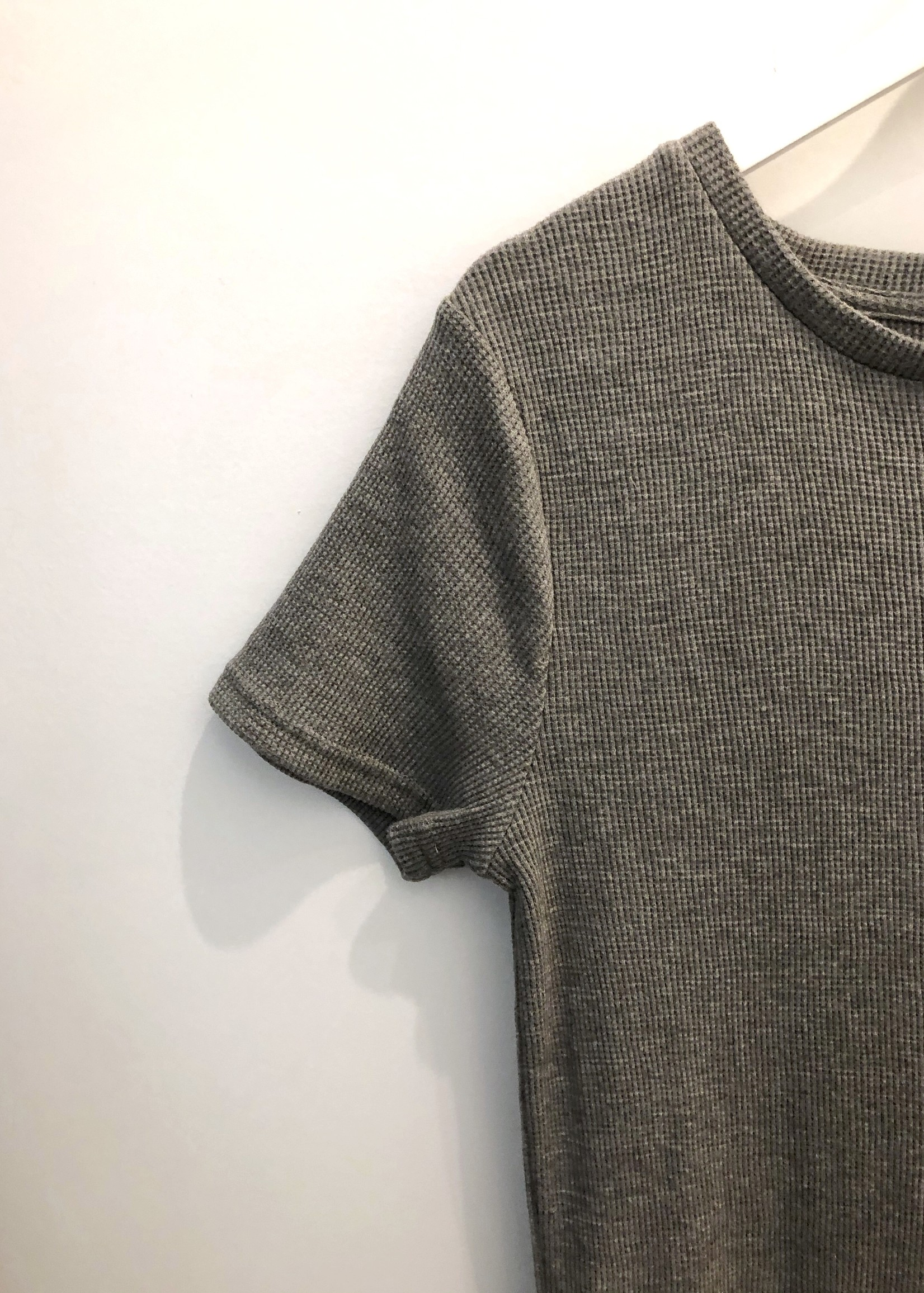 LeBLANC finds Waffle Knit Maxi Dress