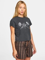 RVCA Bookpress Short Sleeve Tee