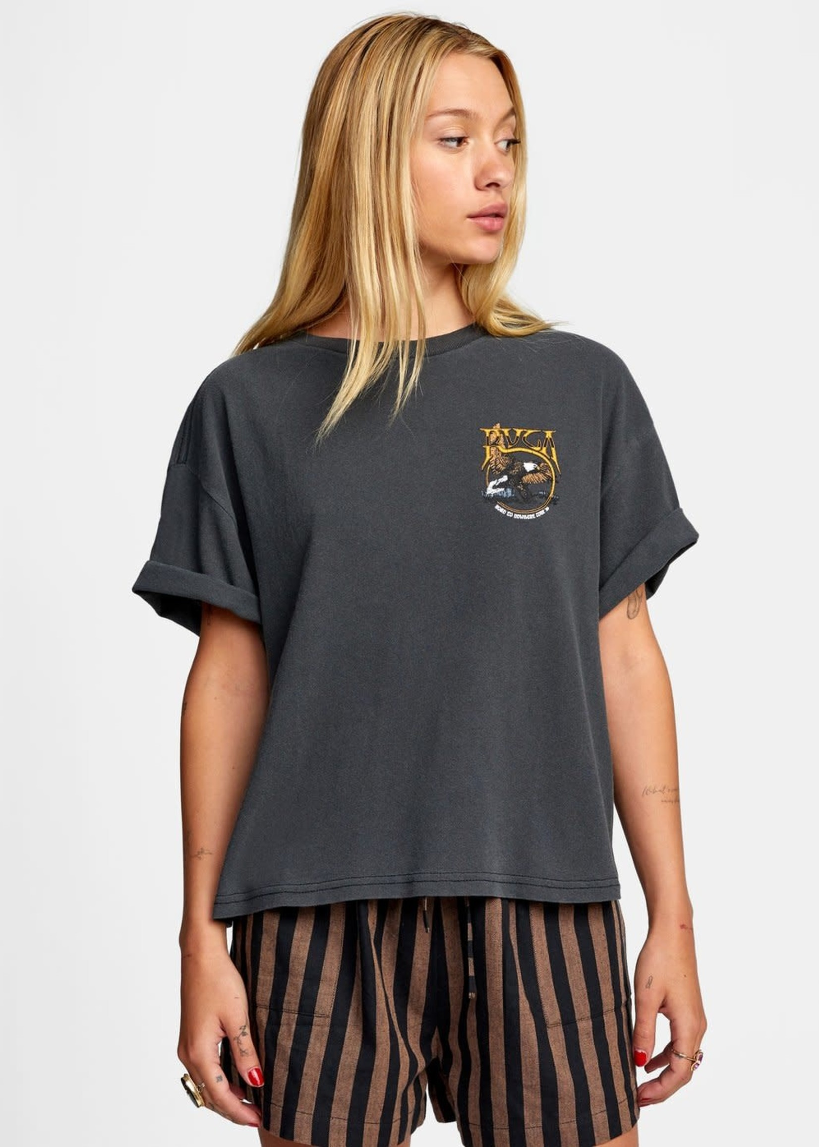 RVCA No Where Short Sleeve Tee