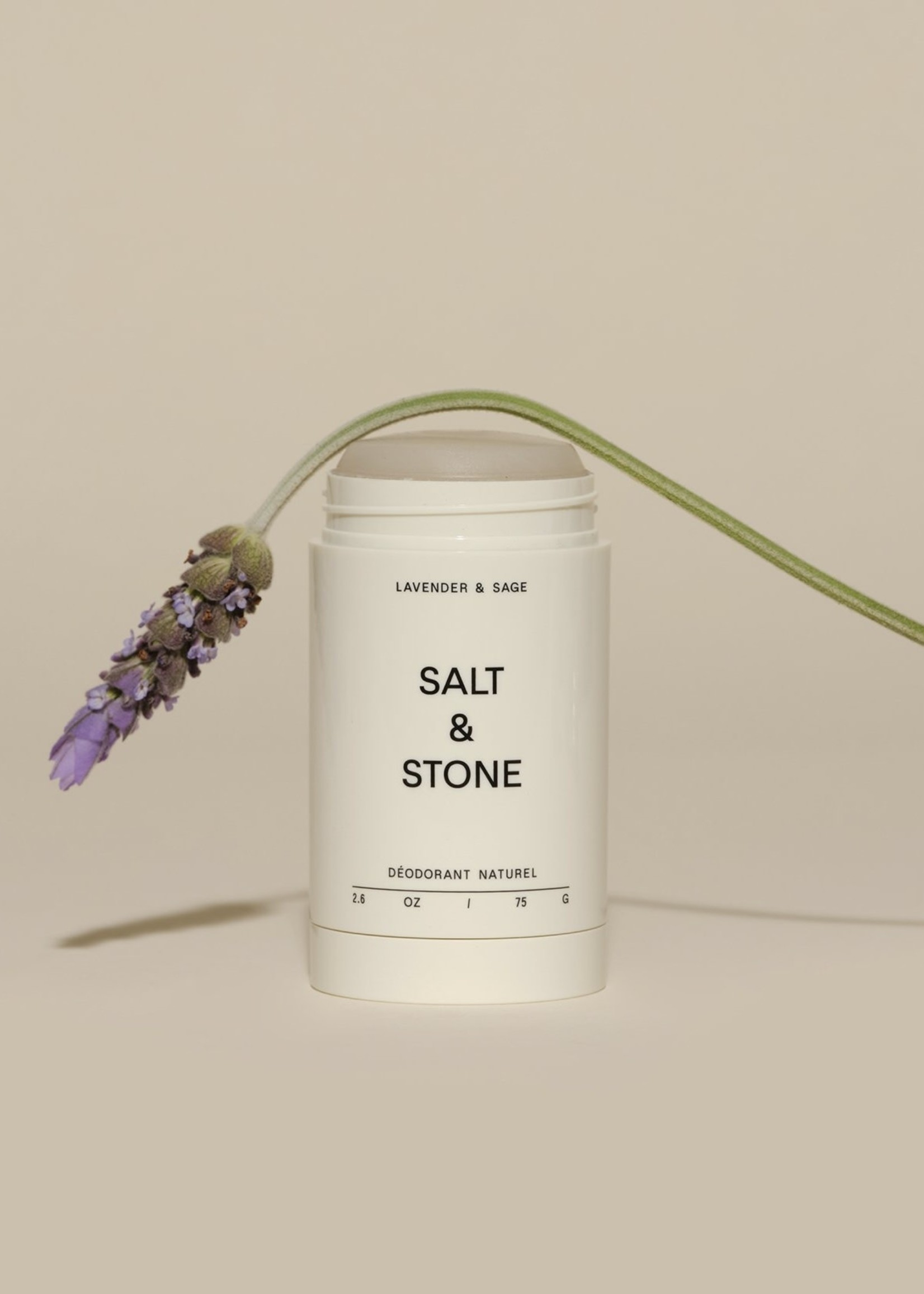 SALT & STONE Lavender & Sage Natural Deodorant