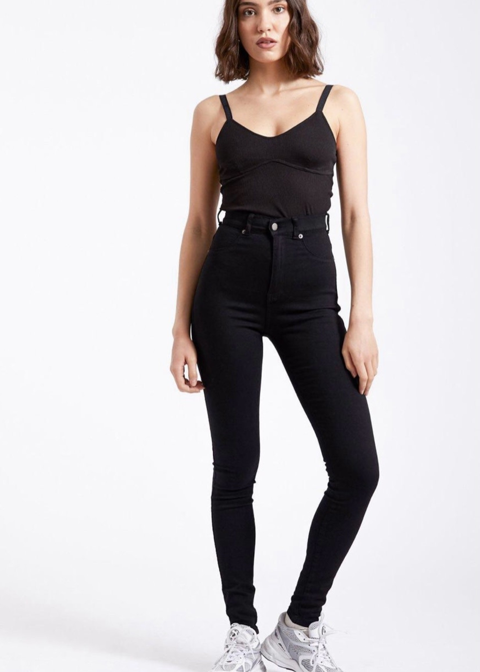 DR DENIM High Waisted Solitaire Jean