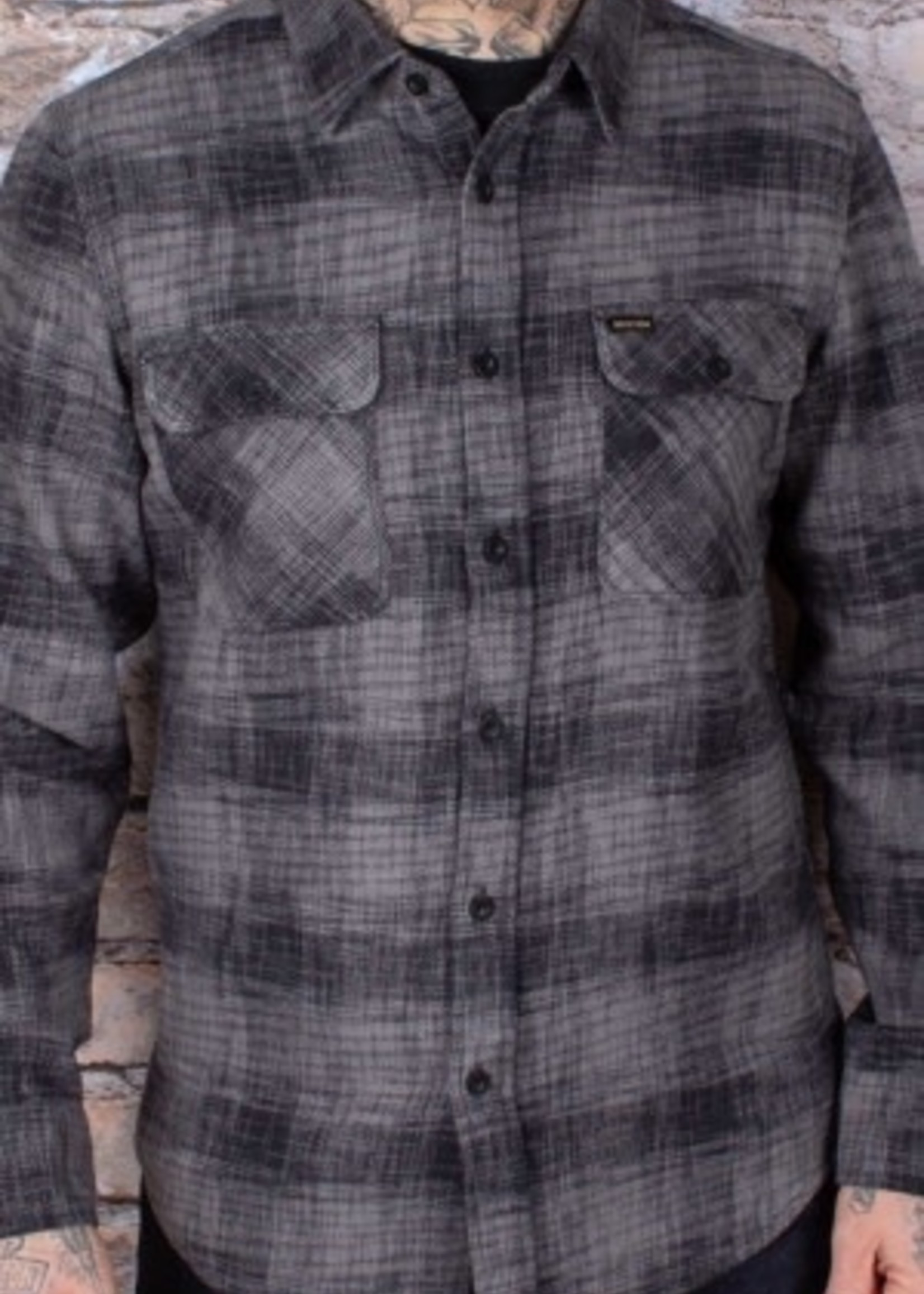 BRIXTON Bowery Reserve Flannel
