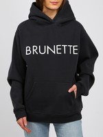 "BRUNETTE  the label The ""BRUNETTE"" Classic Hoodie"