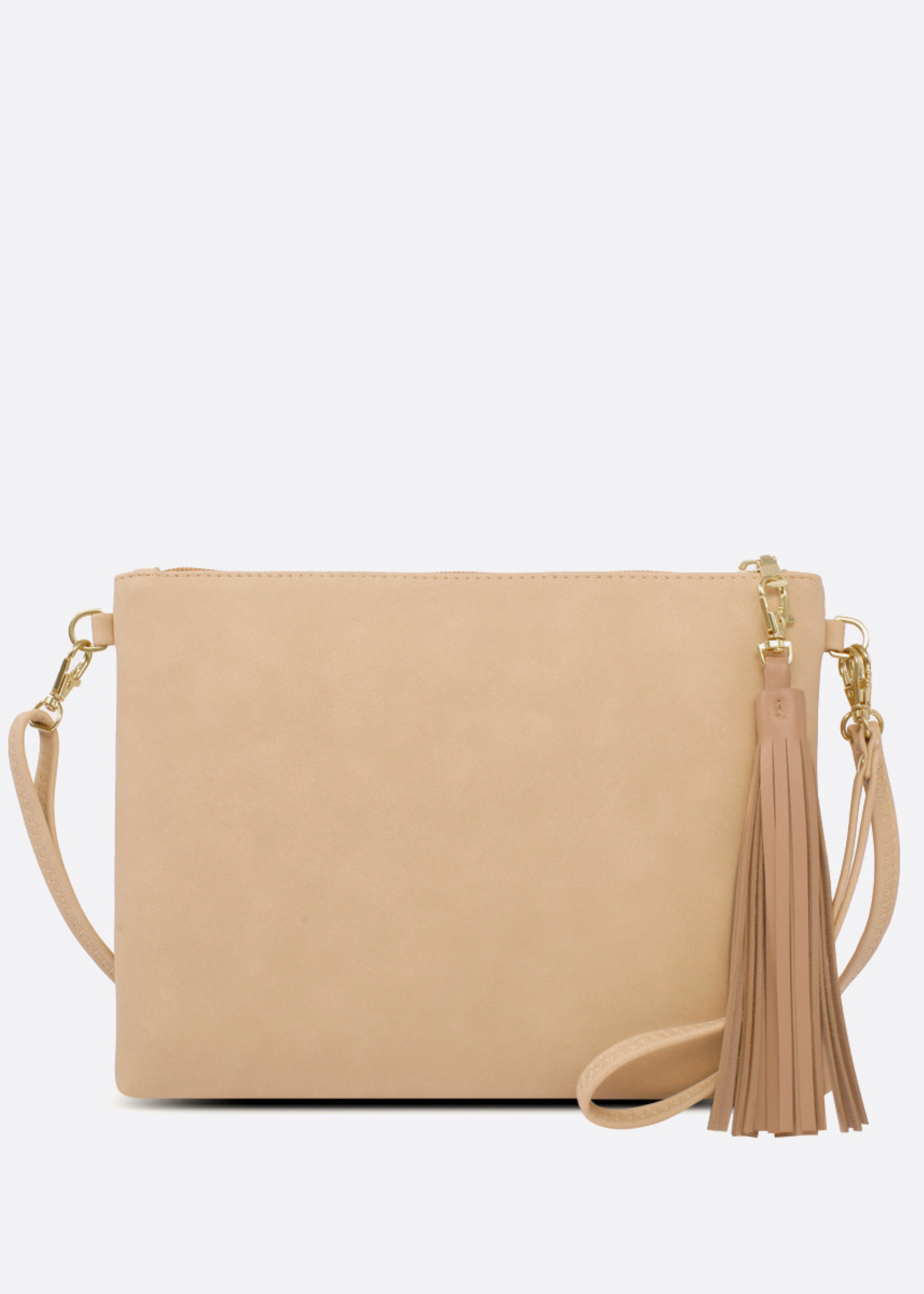 PIXIE MOOD Michelle Clutch SAND