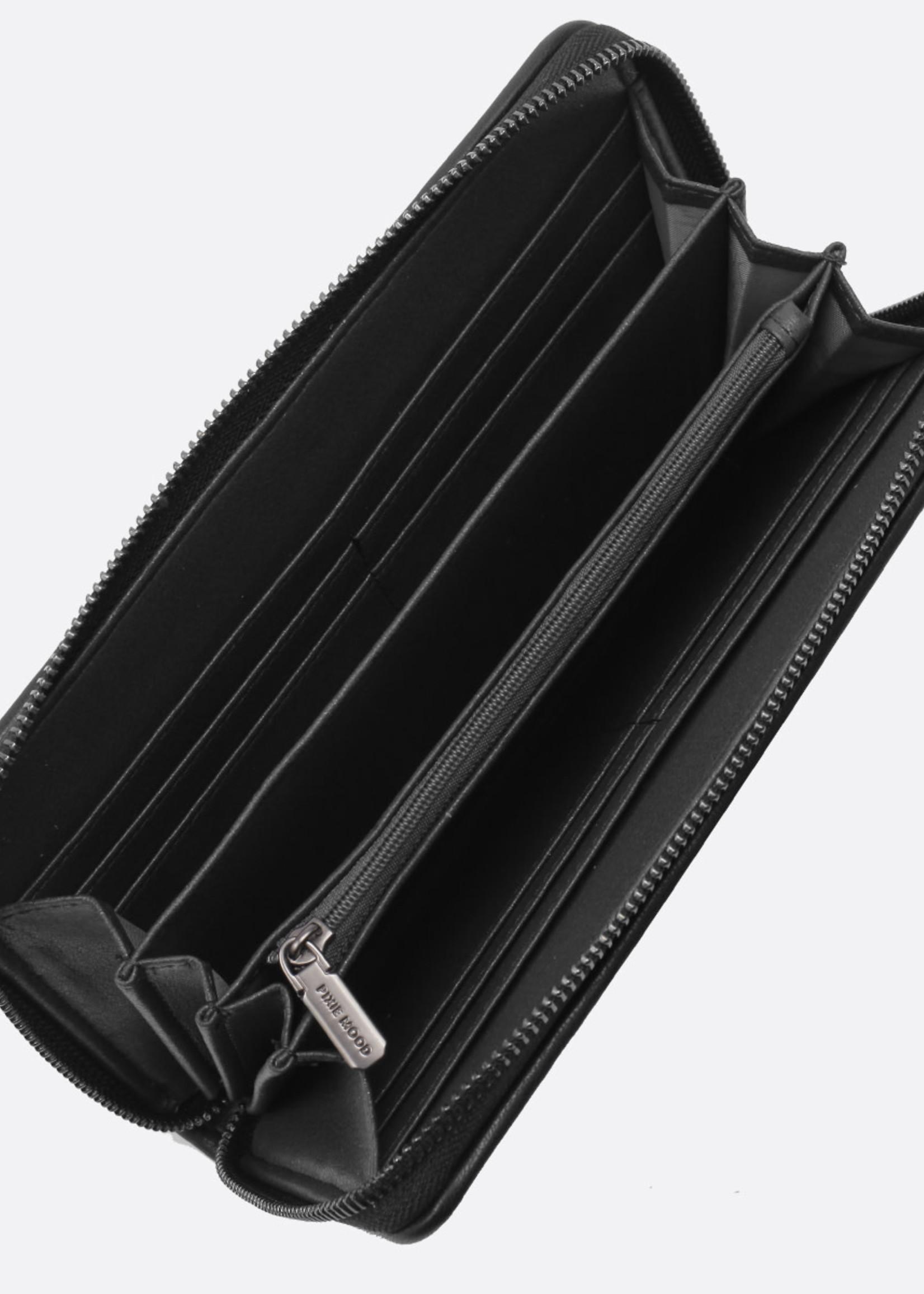 PIXIE MOOD Bubbly Wallet BLACK