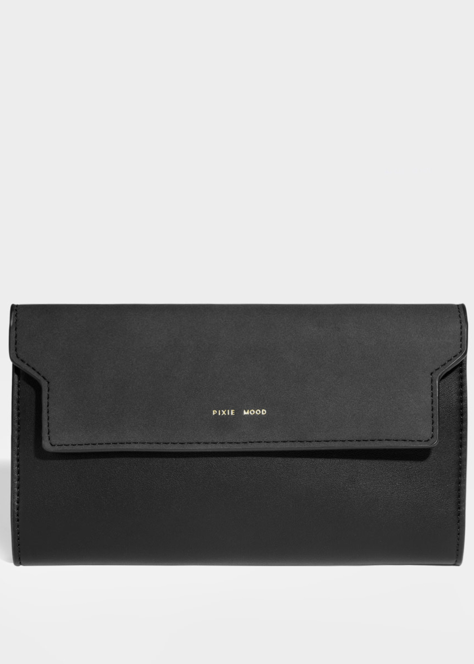 PIXIE MOOD Bianca Travel Organizer BLACK/NUBUCK