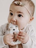 LITTLE CHEEKS Marble Fox TEETHER