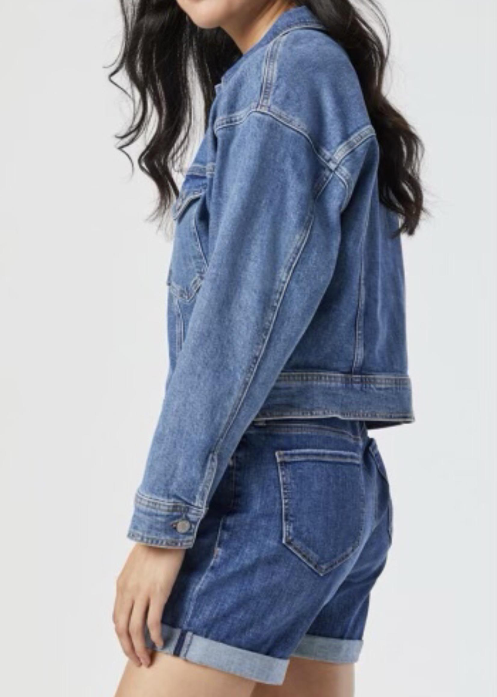 MAVI Jeans Rosa Denim Jacket