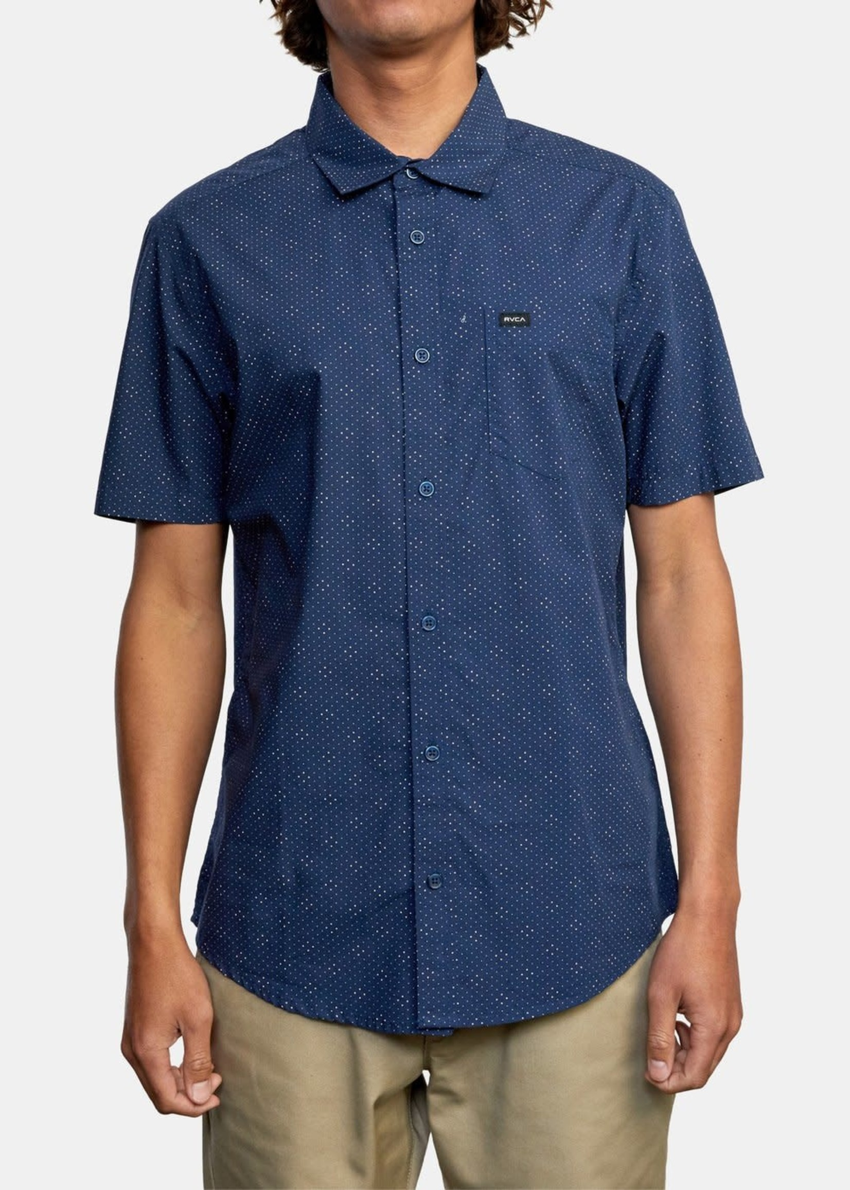 RVCA Carlo Dot Short Sleeve Shirt