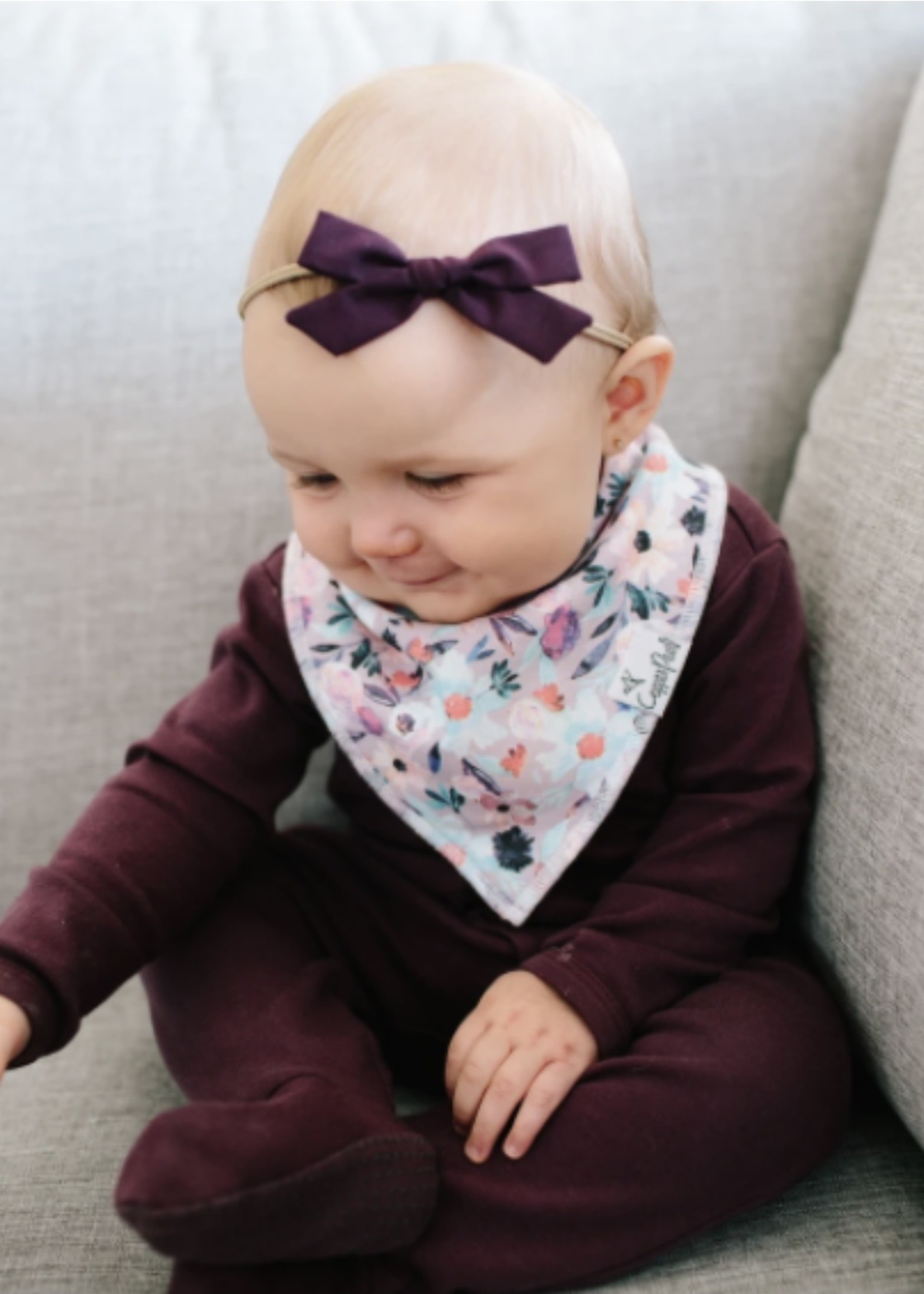 COPPER PEARL 4-Pack Baby Bandana Bibs MORGAN