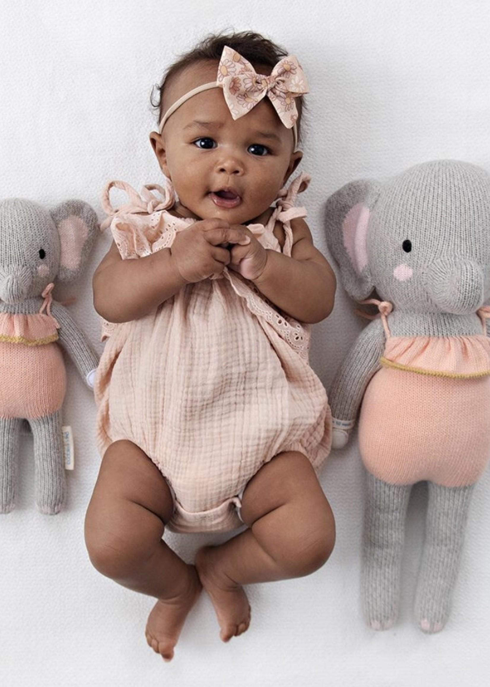 cuddle + kind Mini Elephant Knit Doll ELOISE