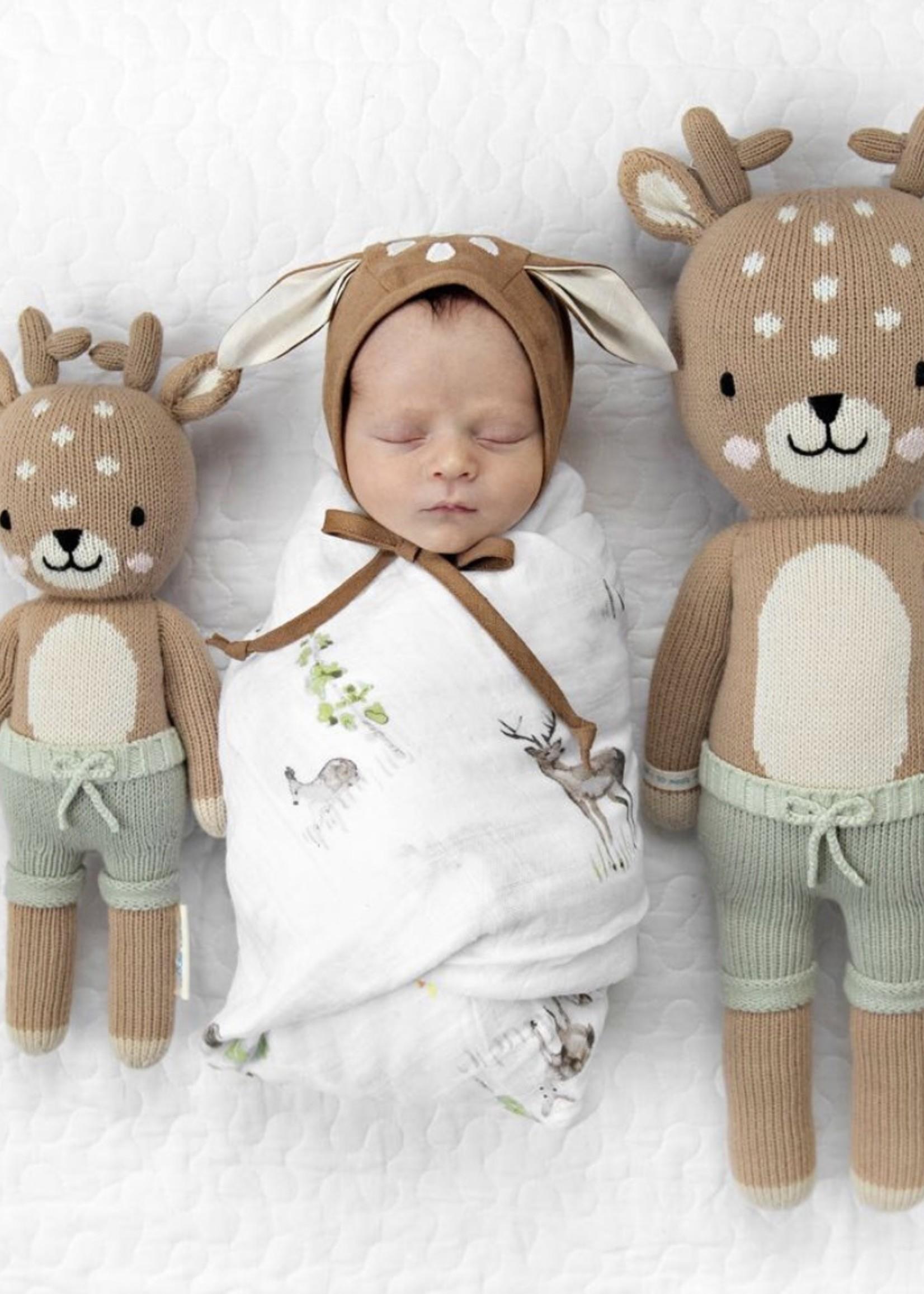 cuddle + kind Mini Fawn Knit Doll ELLIOTT