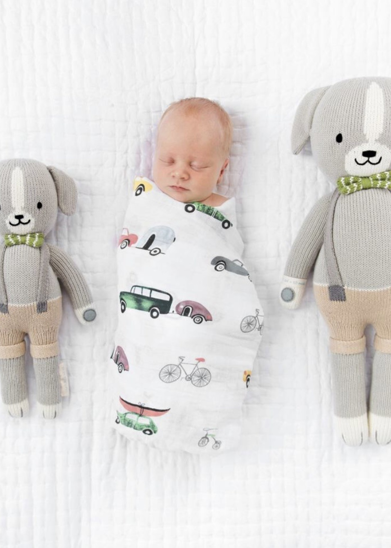 cuddle + kind Mini Dog Knit Doll NOAH