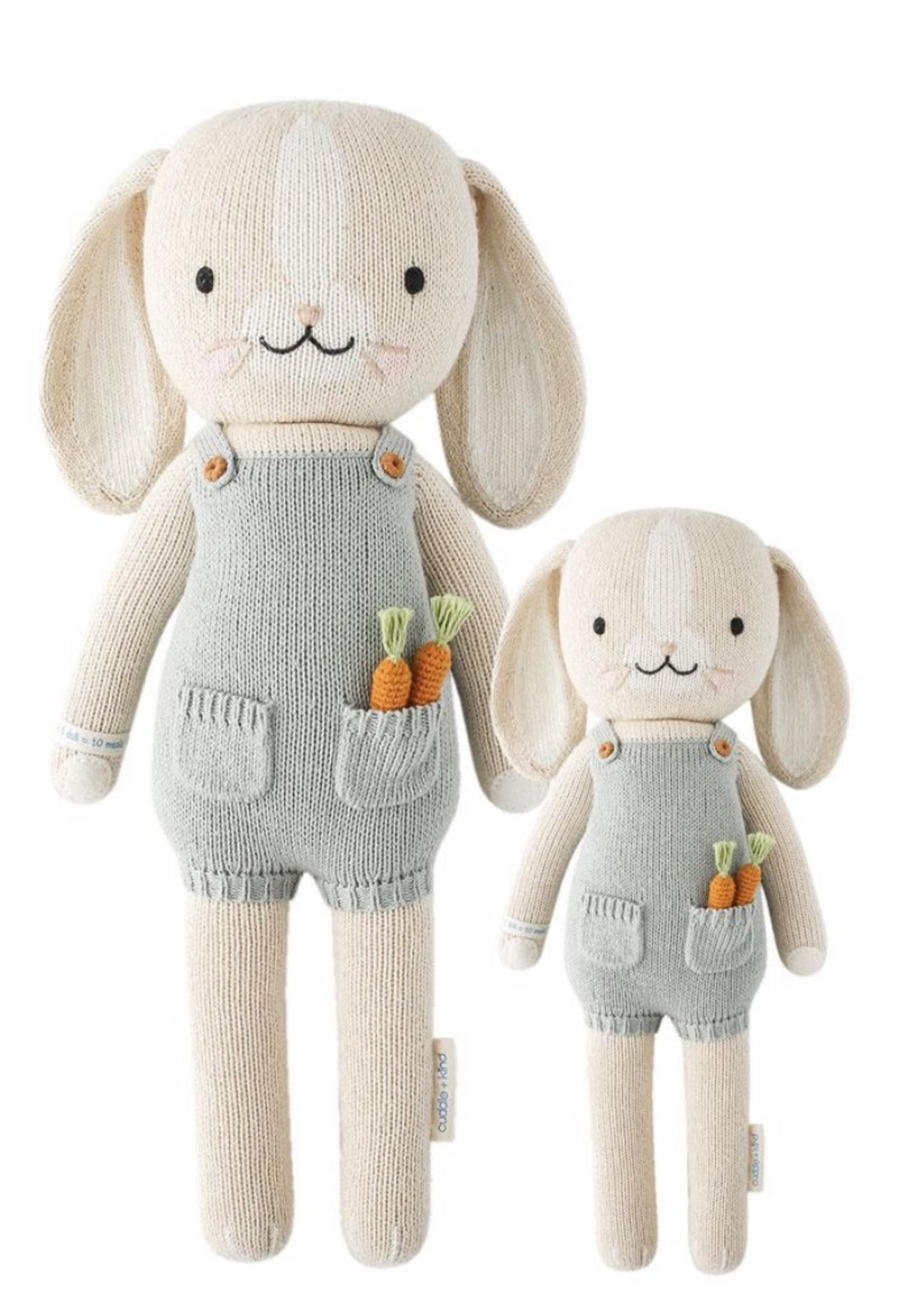 cuddle + kind Mini Bunny Knit Doll HENRY