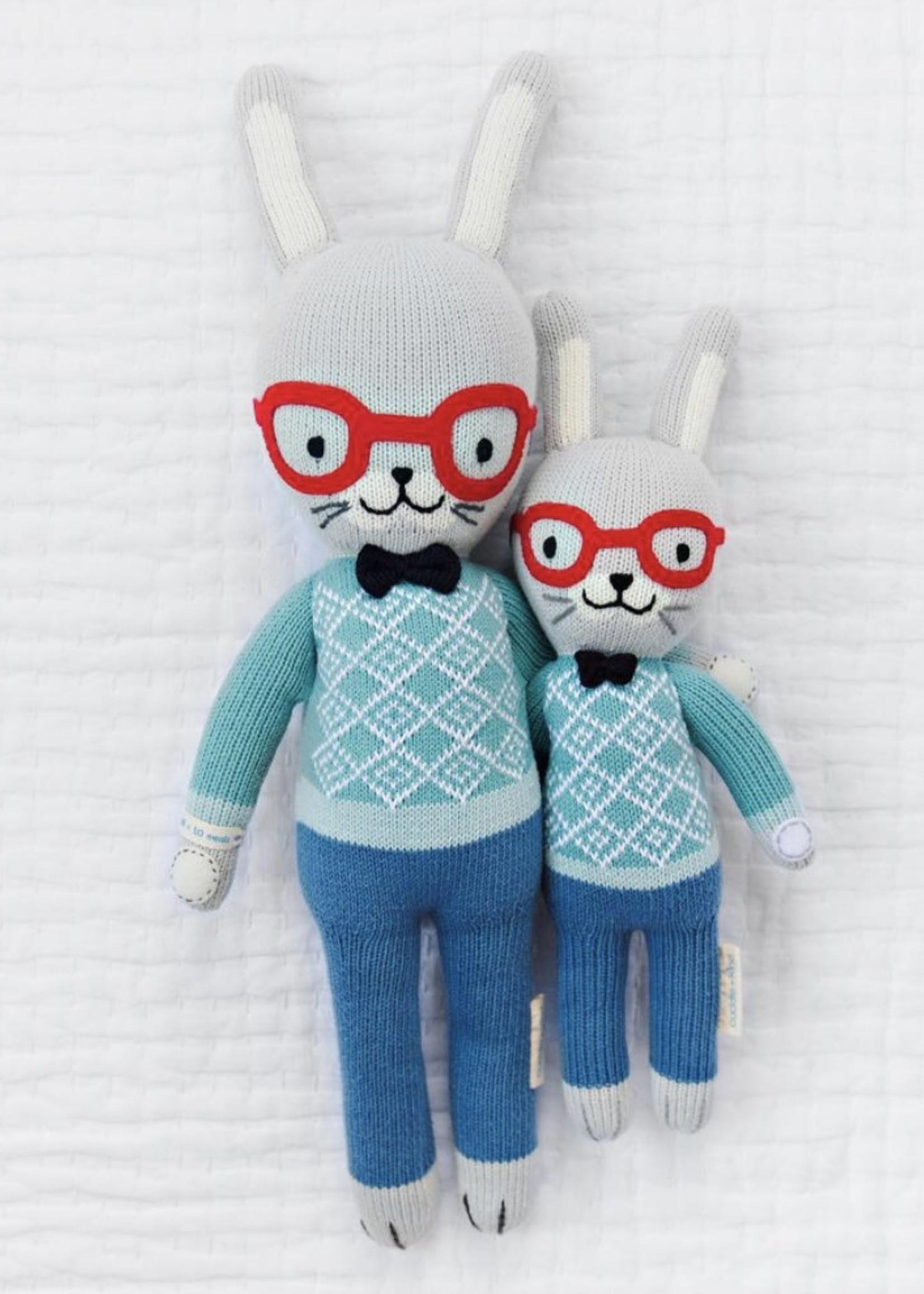 cuddle + kind Mini Bunny Knit Doll BENEDICT