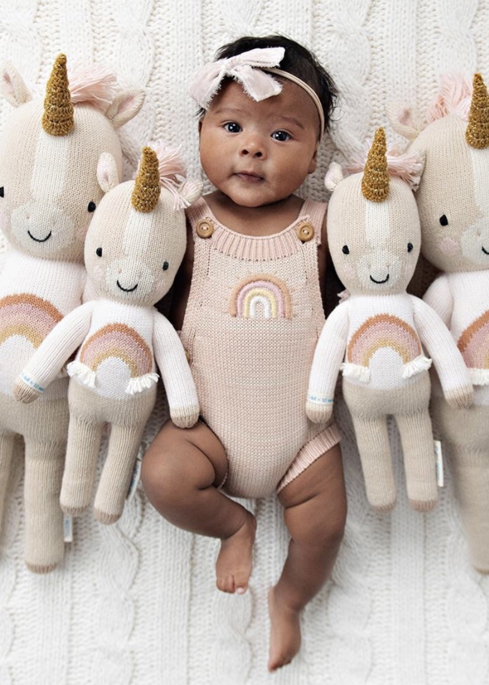 cuddle + kind Mini Unicorn Knit Doll ZARA