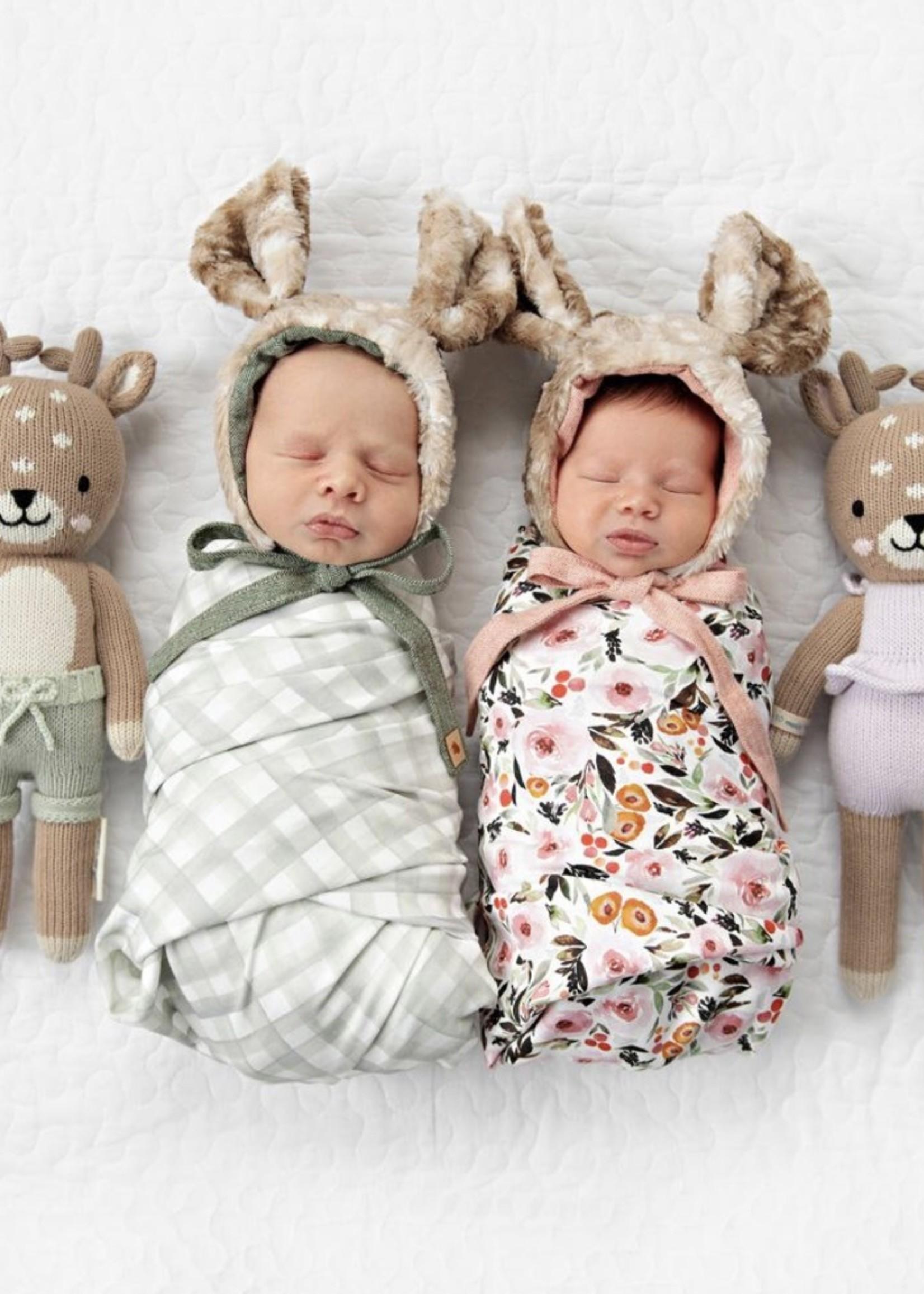 cuddle + kind Mini Fawn Knit Doll VIOLET