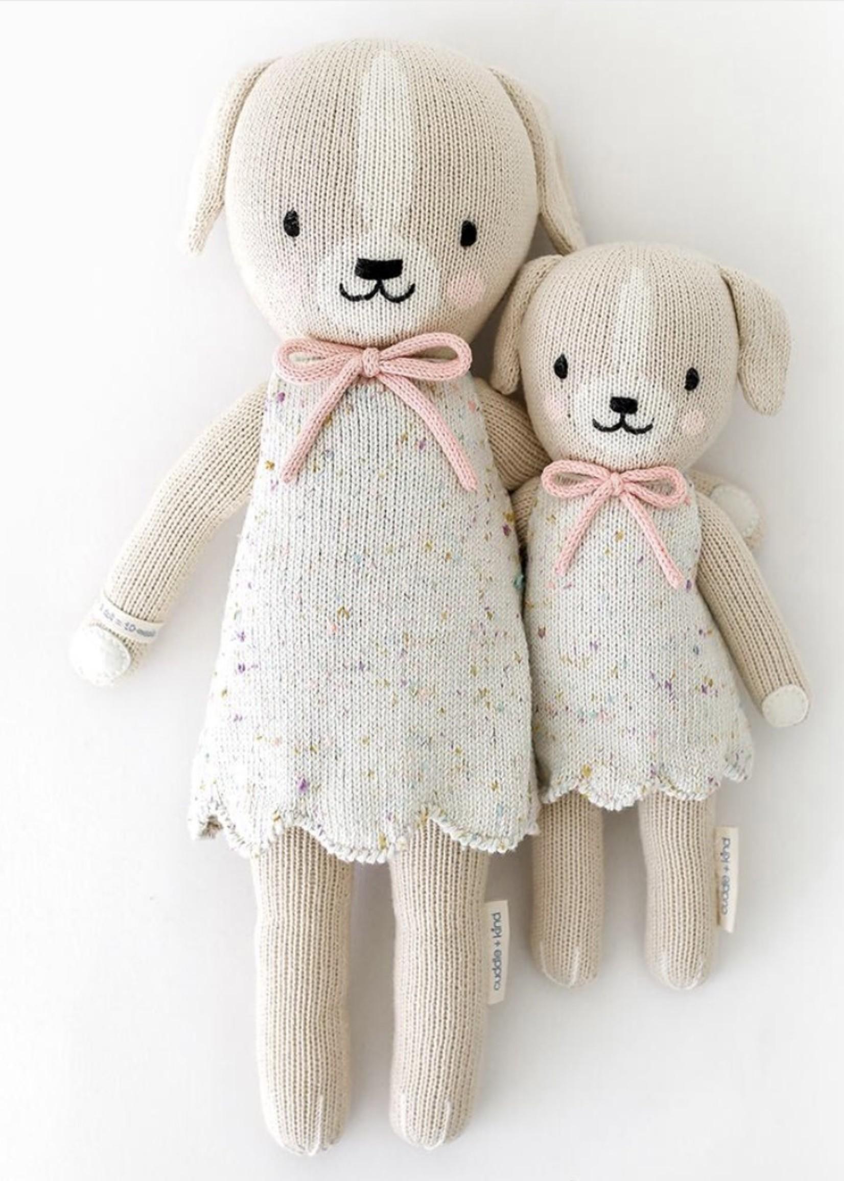 cuddle + kind Mini Dog Knit Doll MIA