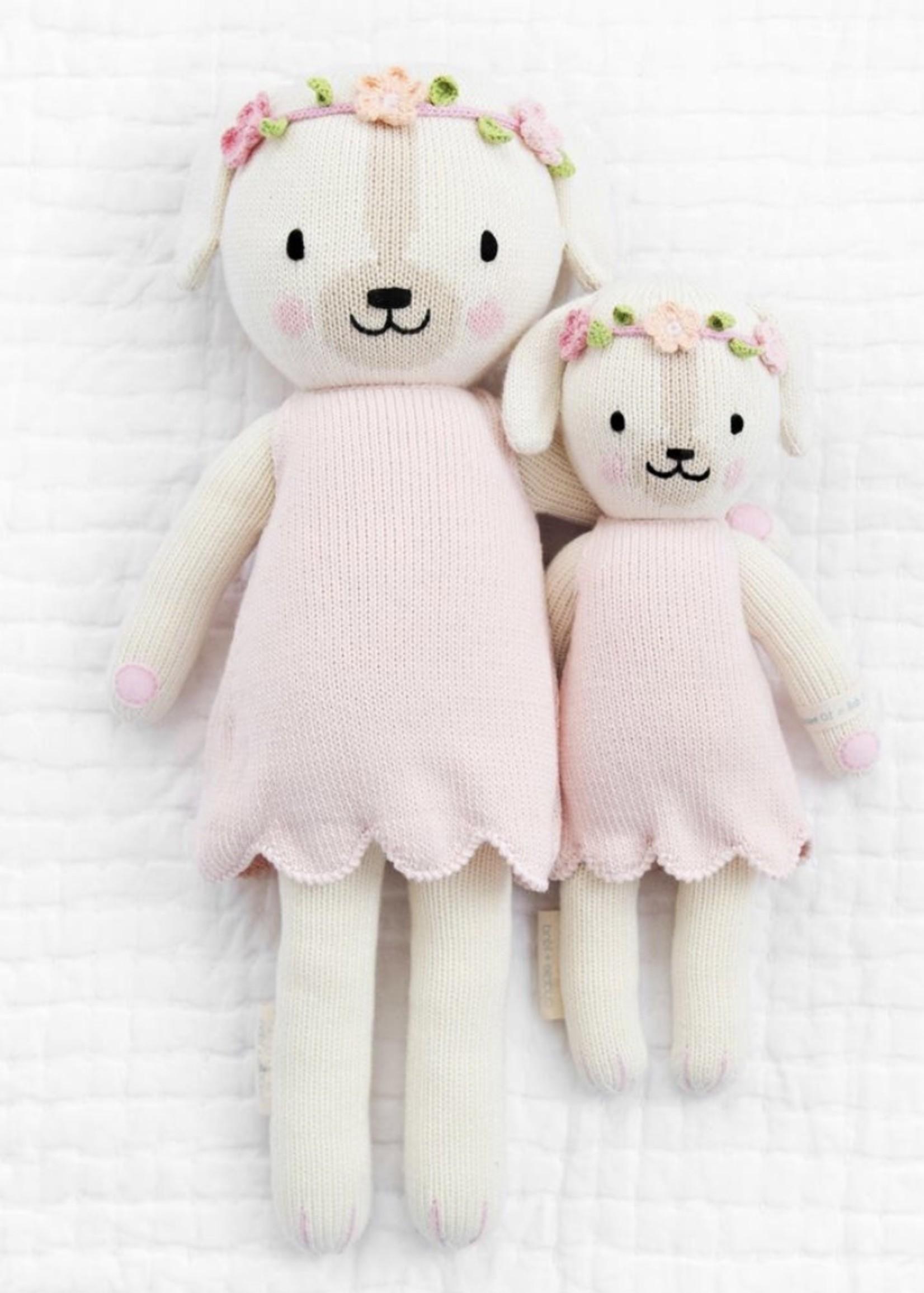 cuddle + kind Big Dog Knit Doll CHARLOTTE