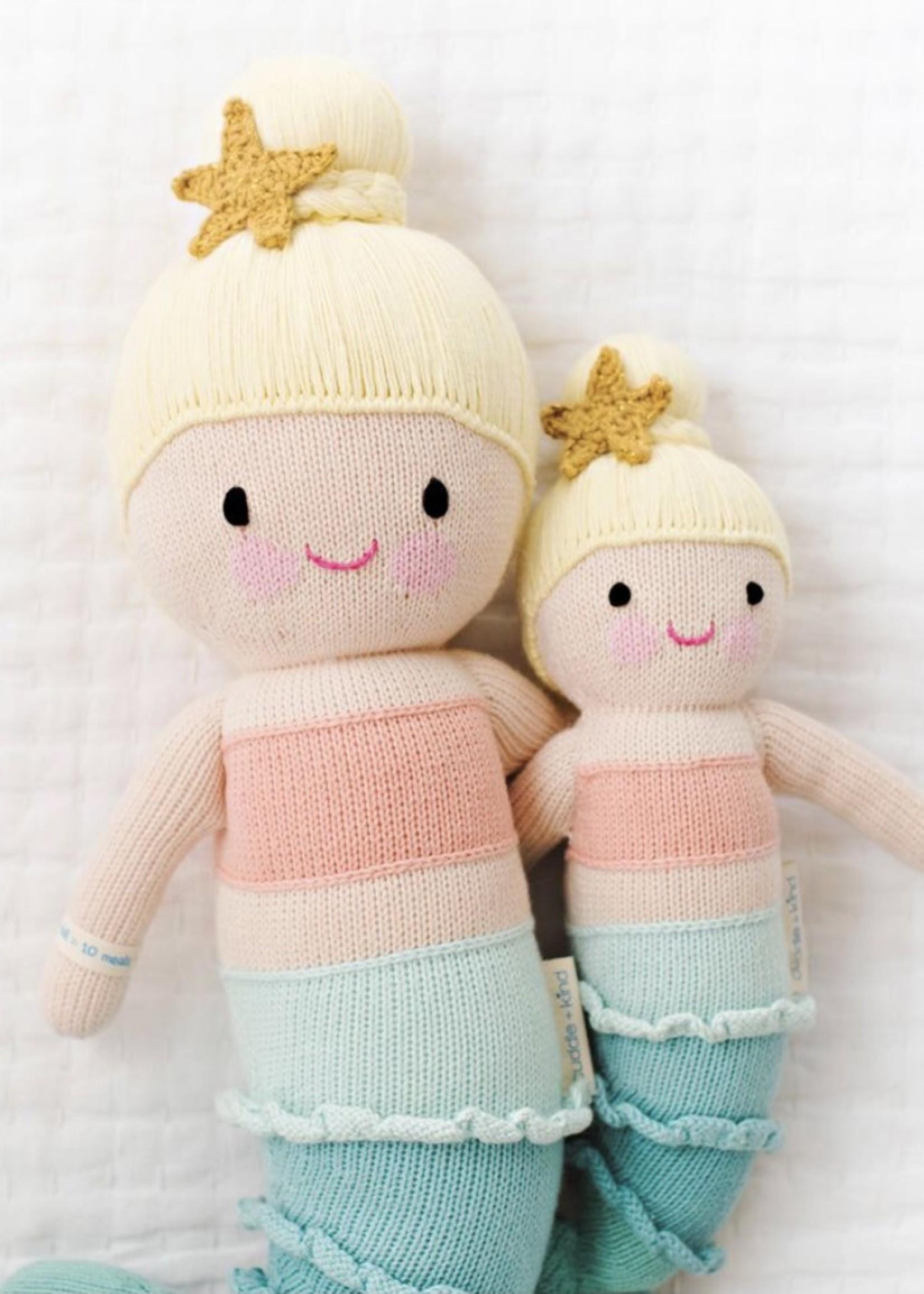 cuddle + kind Big Mermaid Knit Doll SKYE