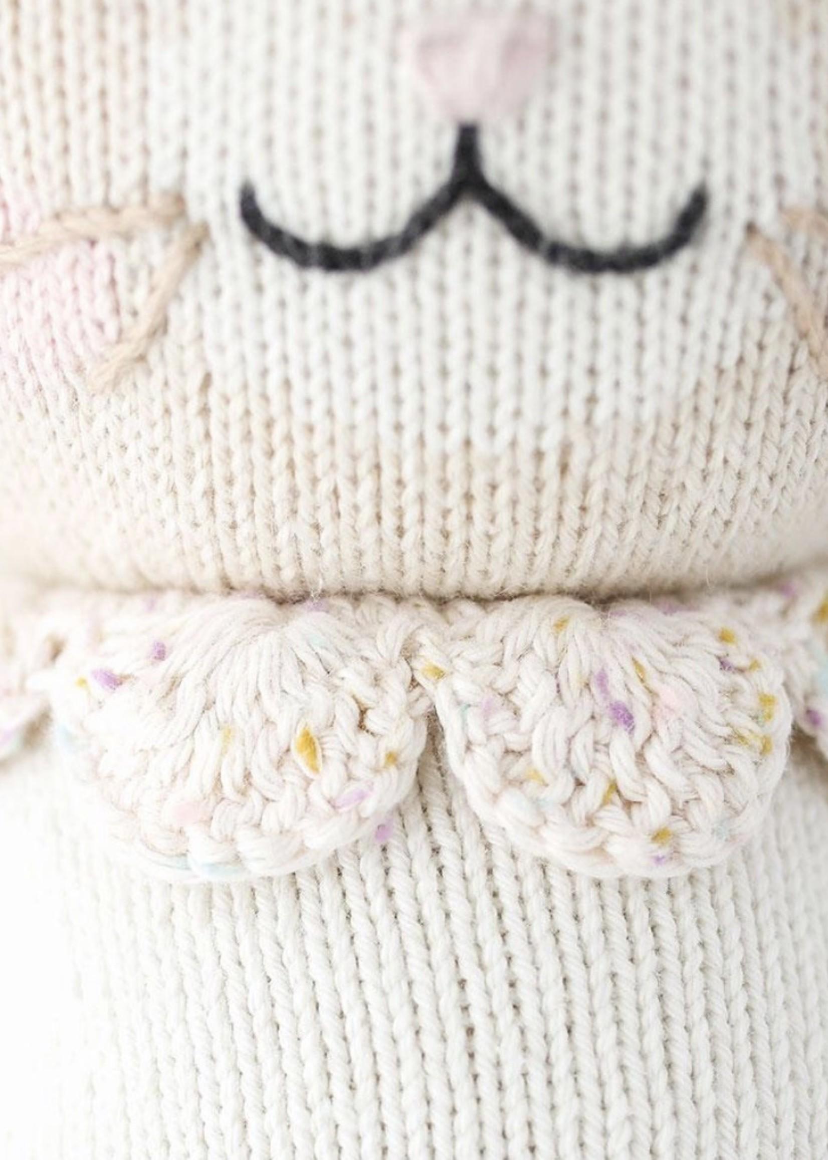 cuddle + kind Mini Bunny Knit Doll HANNAH (ivory)