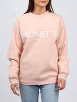 BRUNETTE  the label BRUNETTE Crew Peach Cream