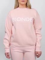 BRUNETTE  the label BLONDE Crew Peach Cream