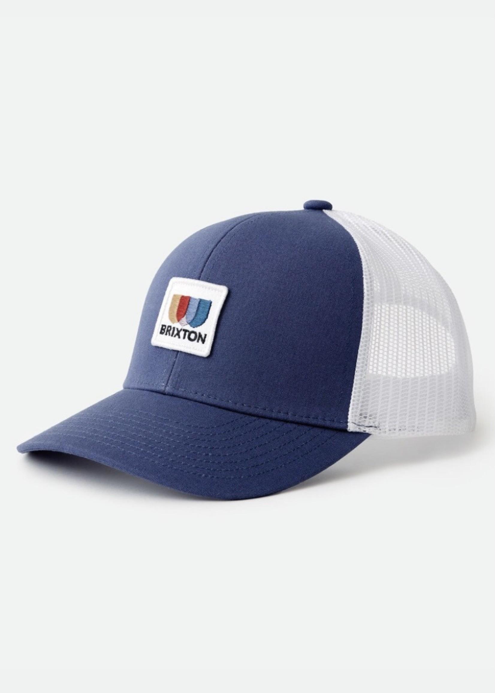 BRIXTON Alton Mesh Cap BLUE/WHITE