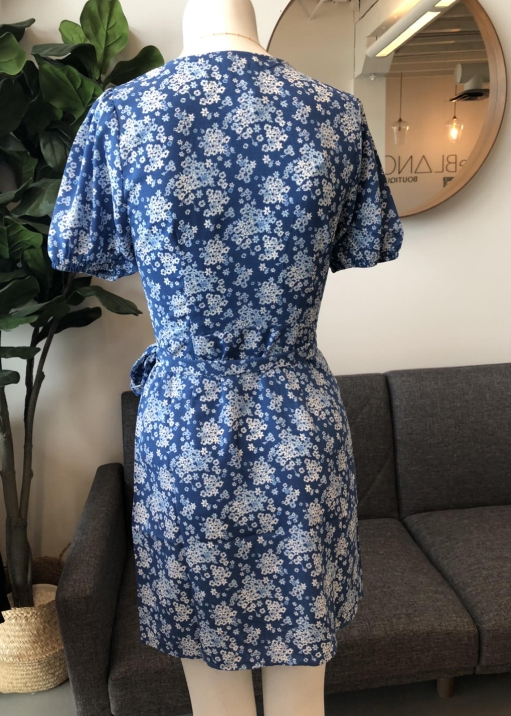 LeBLANC finds Floral Wrap Dress