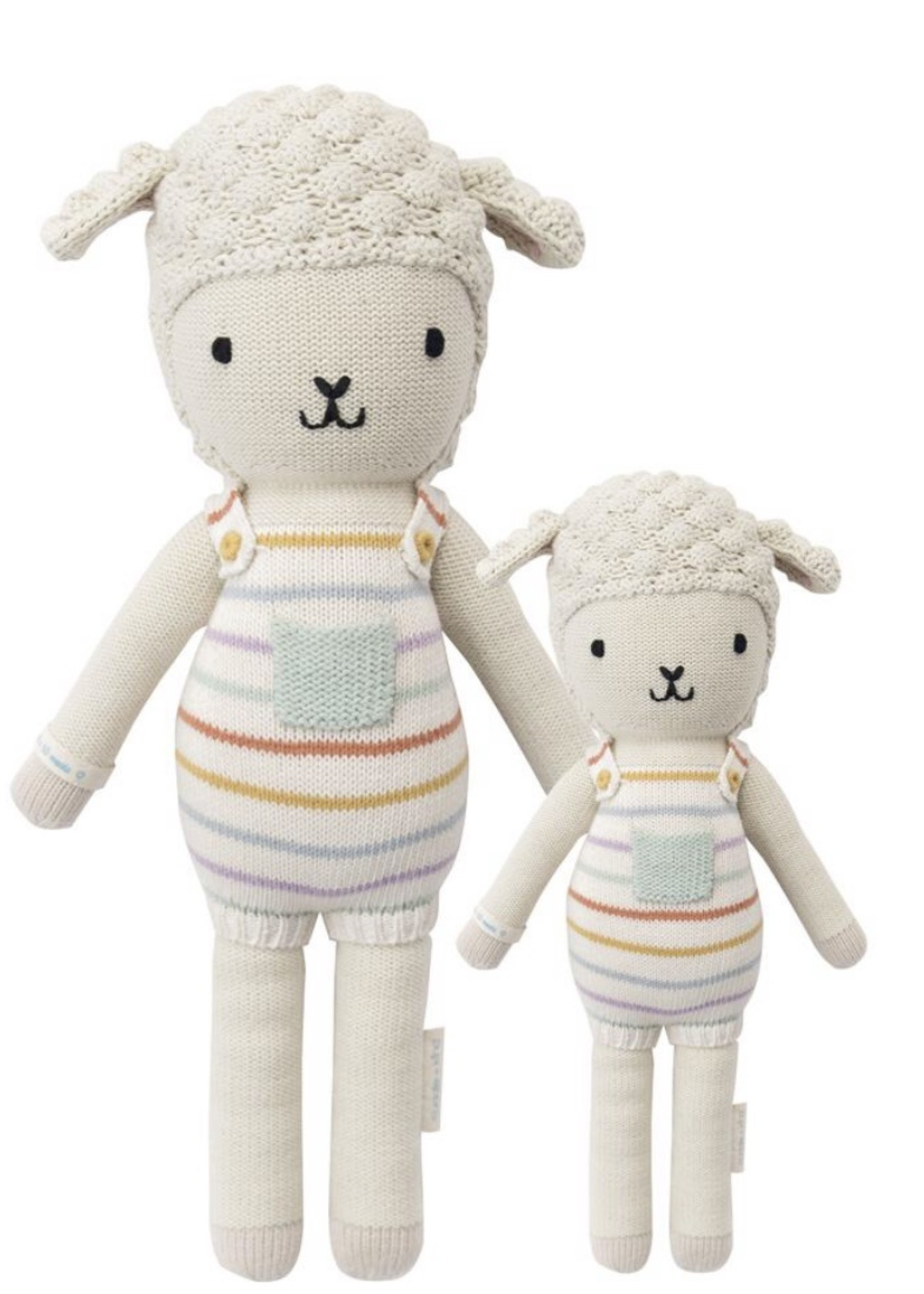 cuddle + kind Big Lamb Knit Doll AVERY