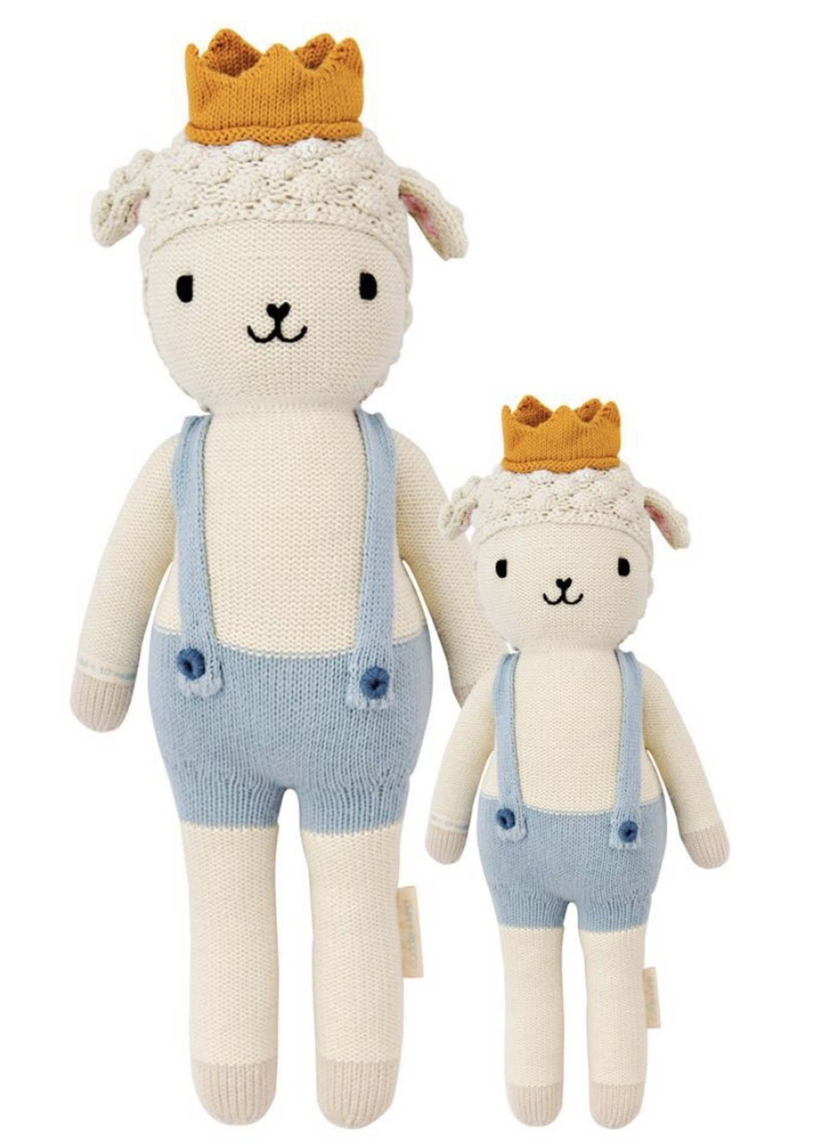 cuddle + kind Mini Lamb Knit Doll SEBASTIAN