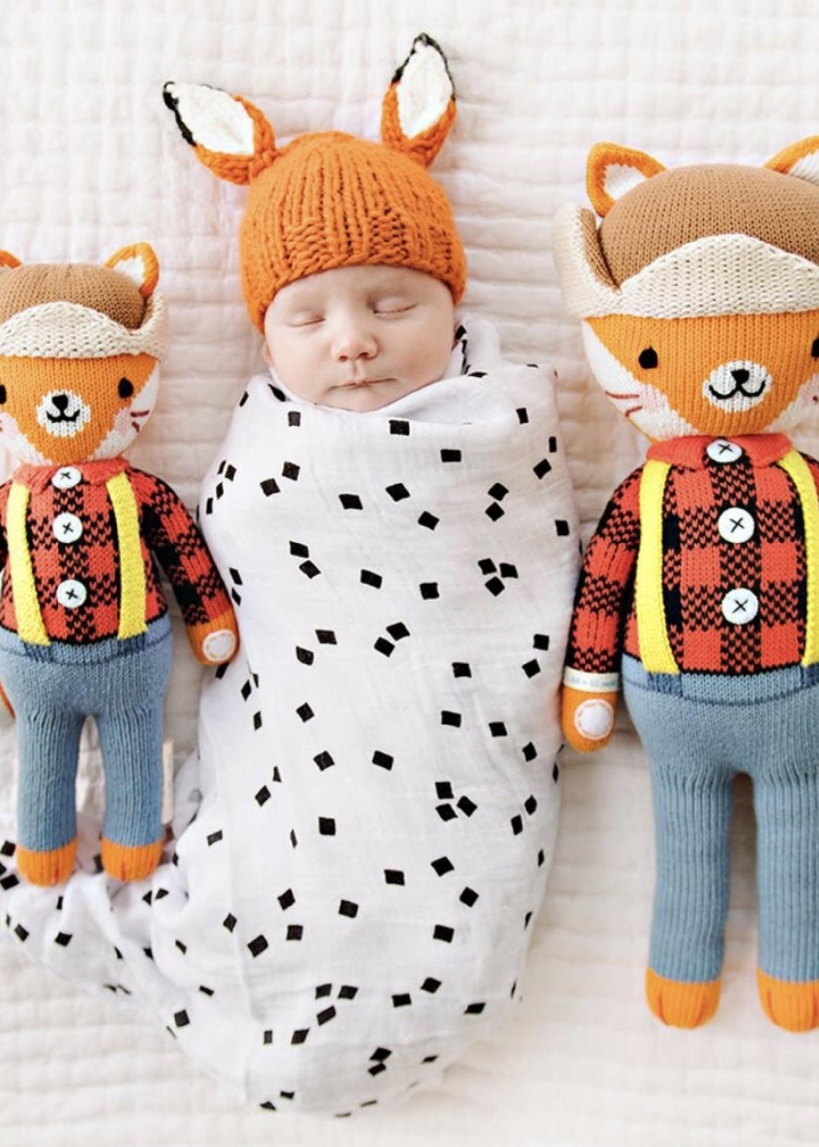 cuddle + kind Mini Fox Knit Doll WYATT
