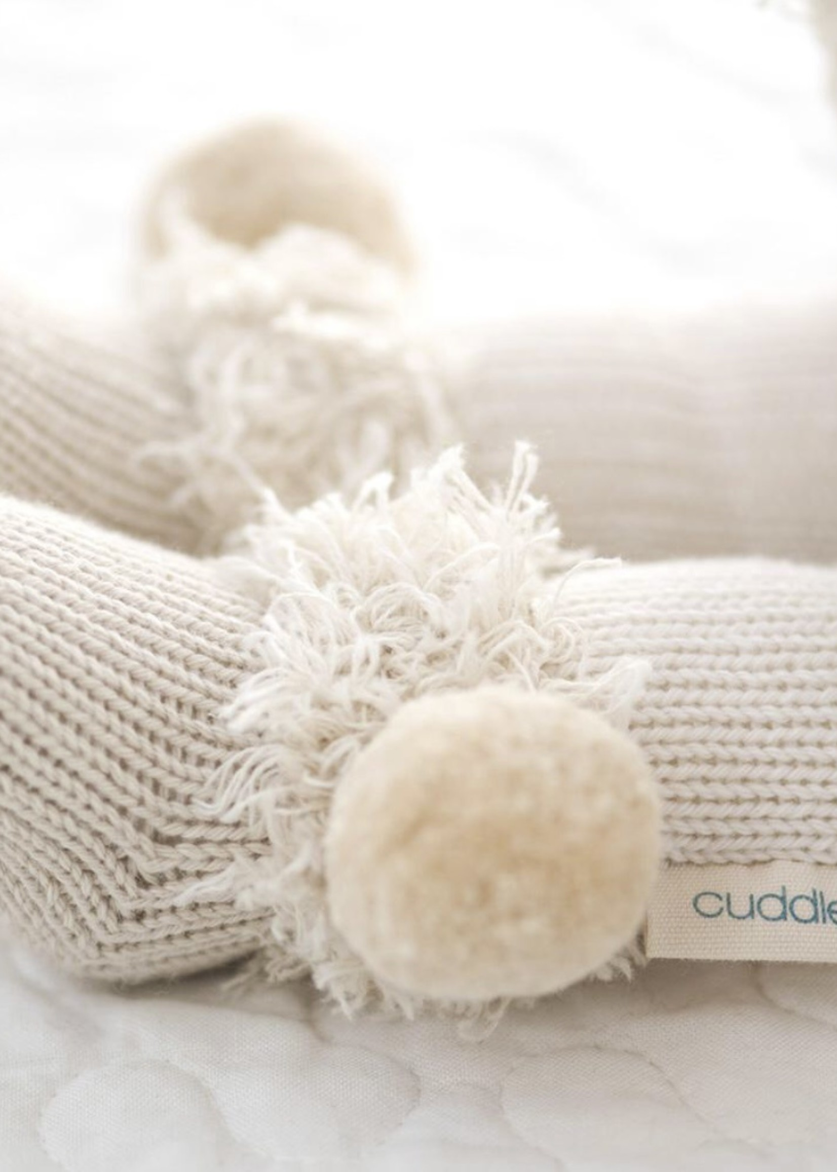 cuddle + kind Mini Polar Bear Knit Doll STELLA