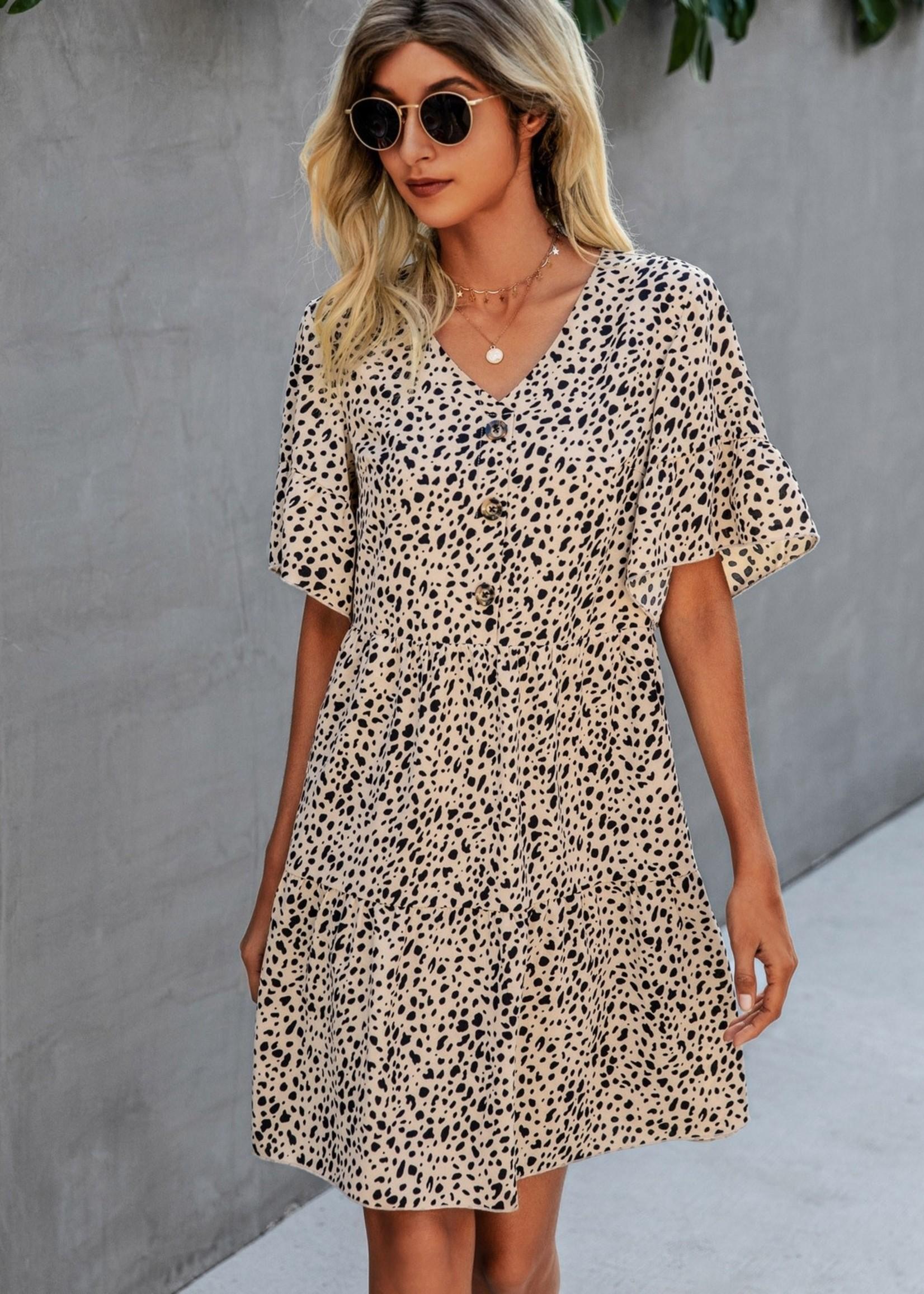 LeBLANC finds MAYA animal print dress