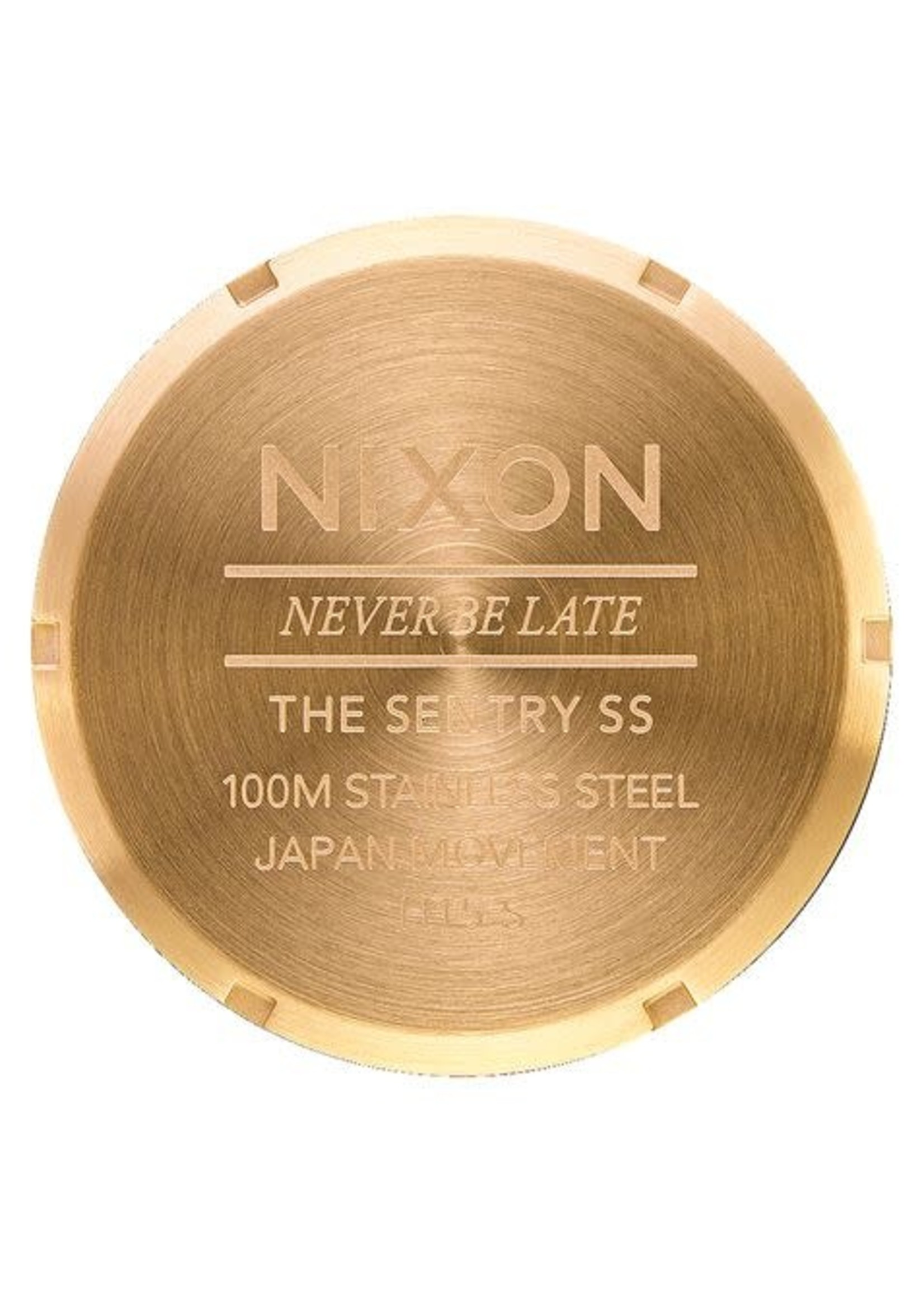 NIXON NIXON watch SENTRY, All Gold/ Black