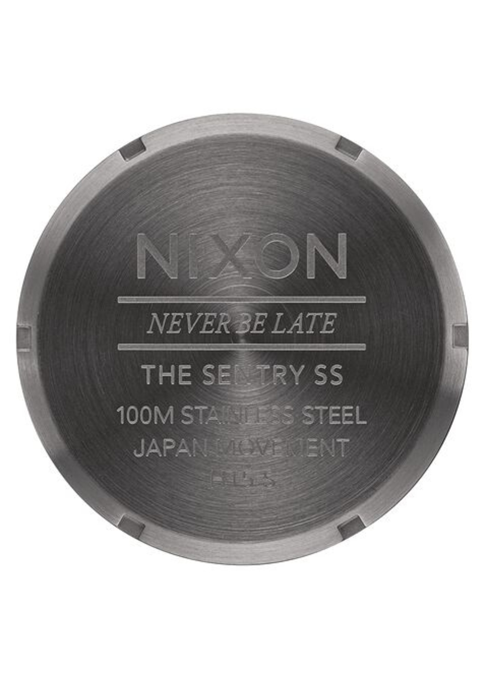 NIXON SENTRY SS, All Gunmetal